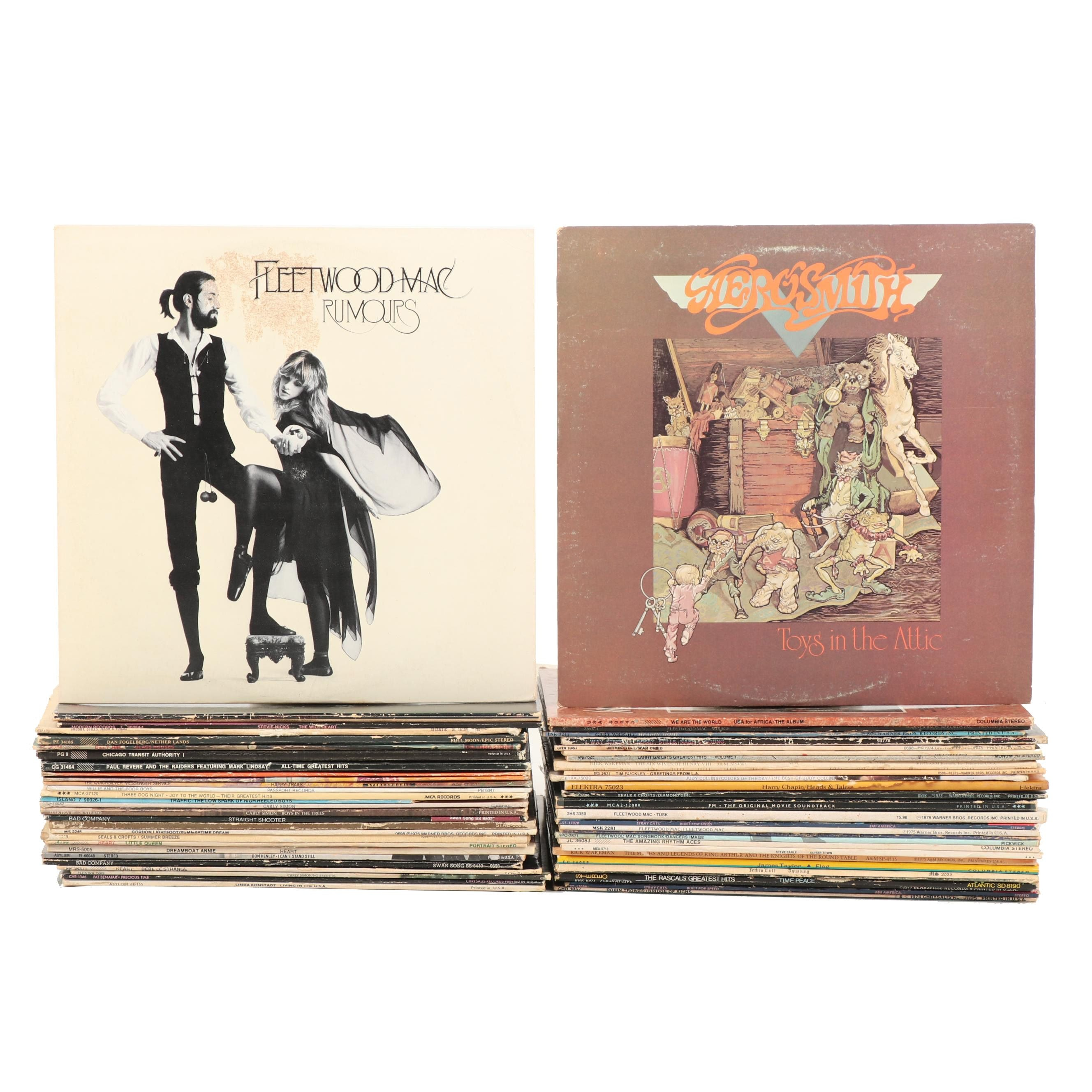"Classic Rock Records Including Fleetwood Mac ""Rumours"""