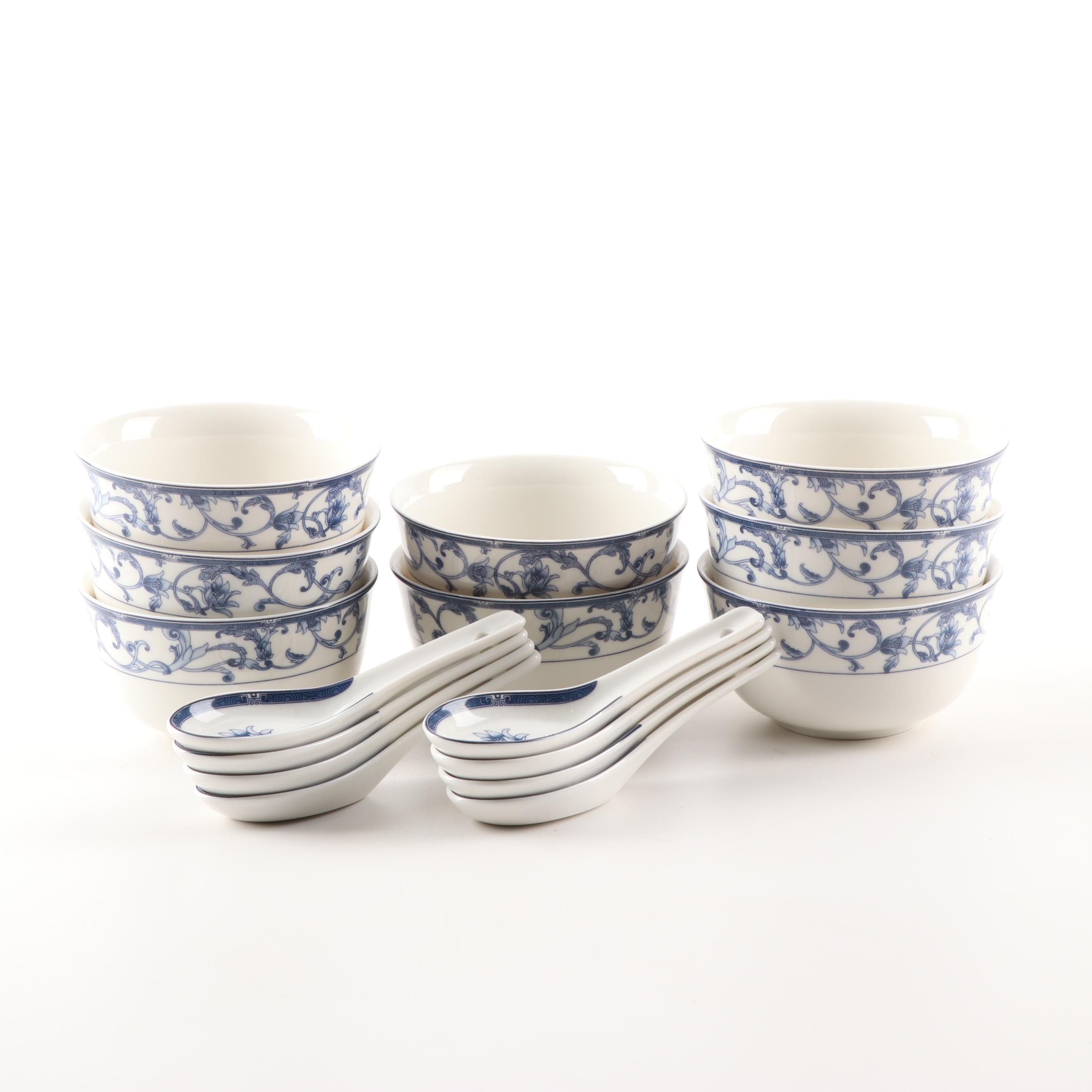 Chinese Soup Bowl Set by Yuhangciye