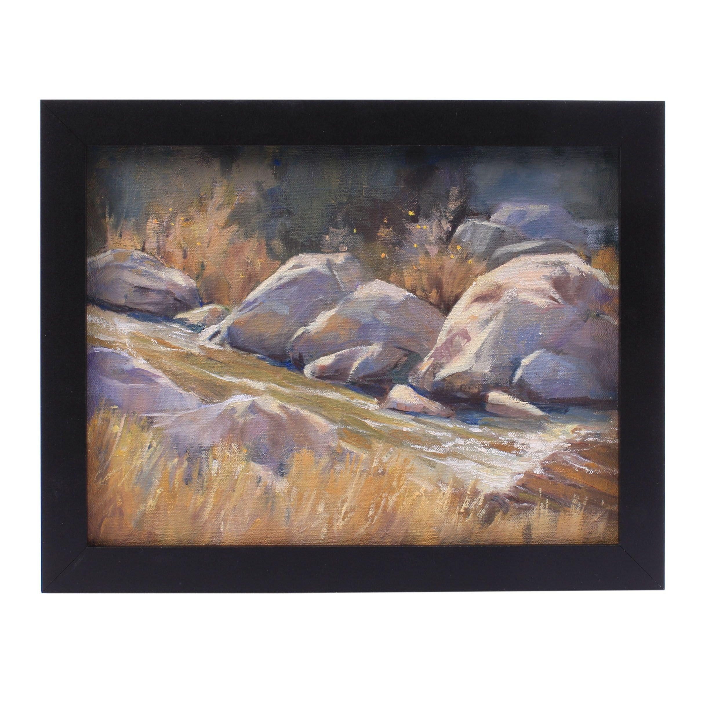 Connie Layne Creek Landscape Oil Painting