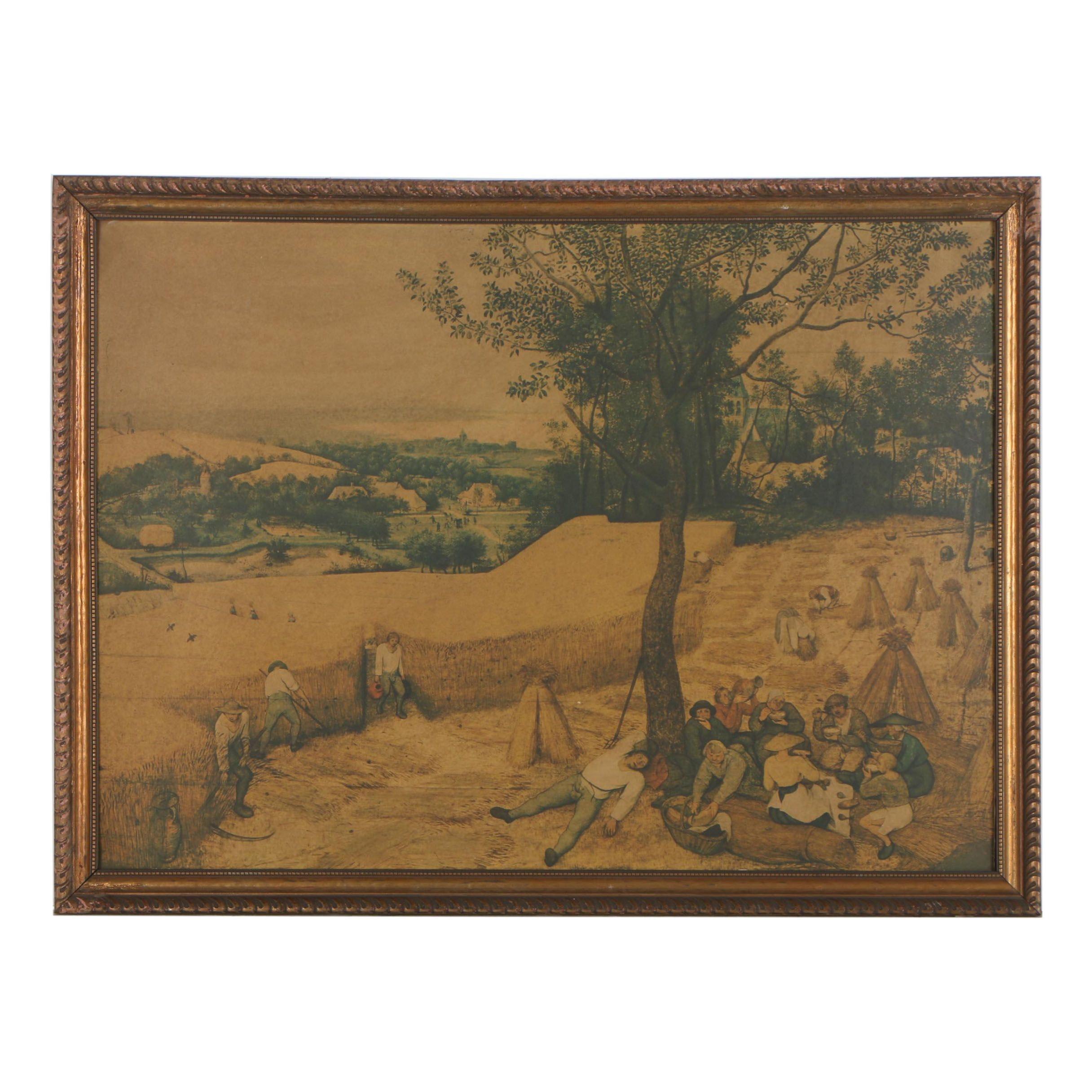 "Giclée after Pieter Bruegel The Elder ""The Harvesters"""