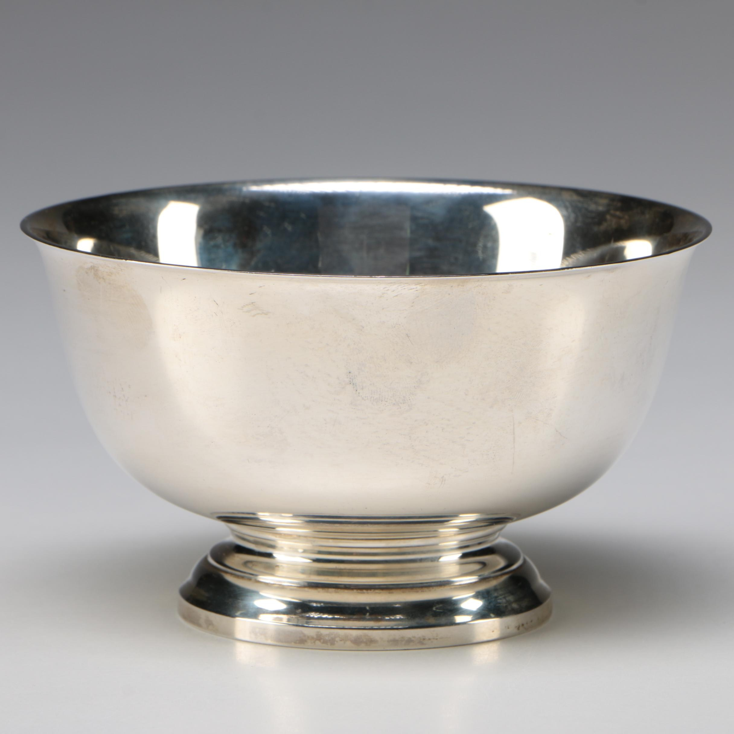 Gorham Sterling Silver Reproduction Paul Revere Bowl, 1953