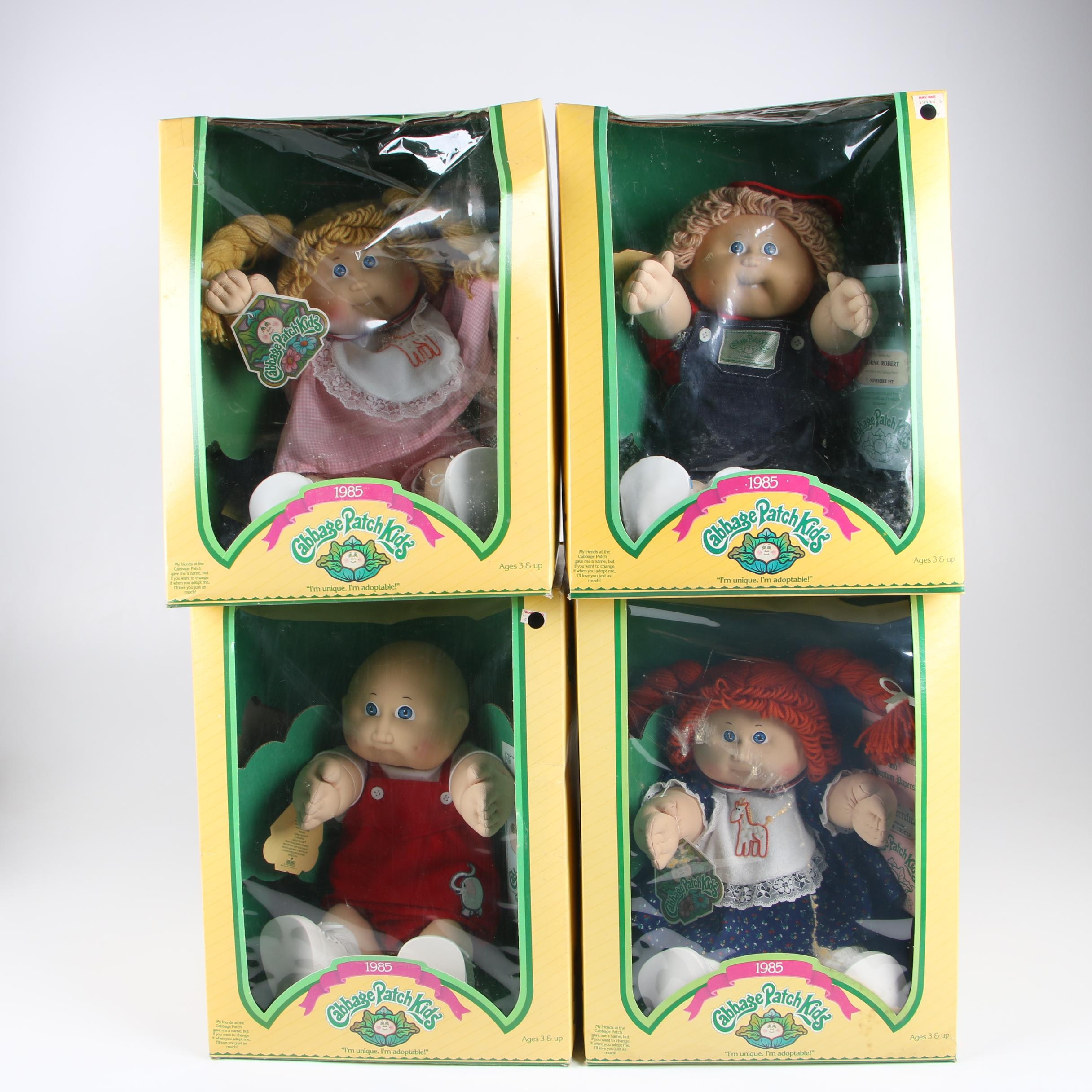 Coleco Cabbage Patch Kids Dolls, 1985