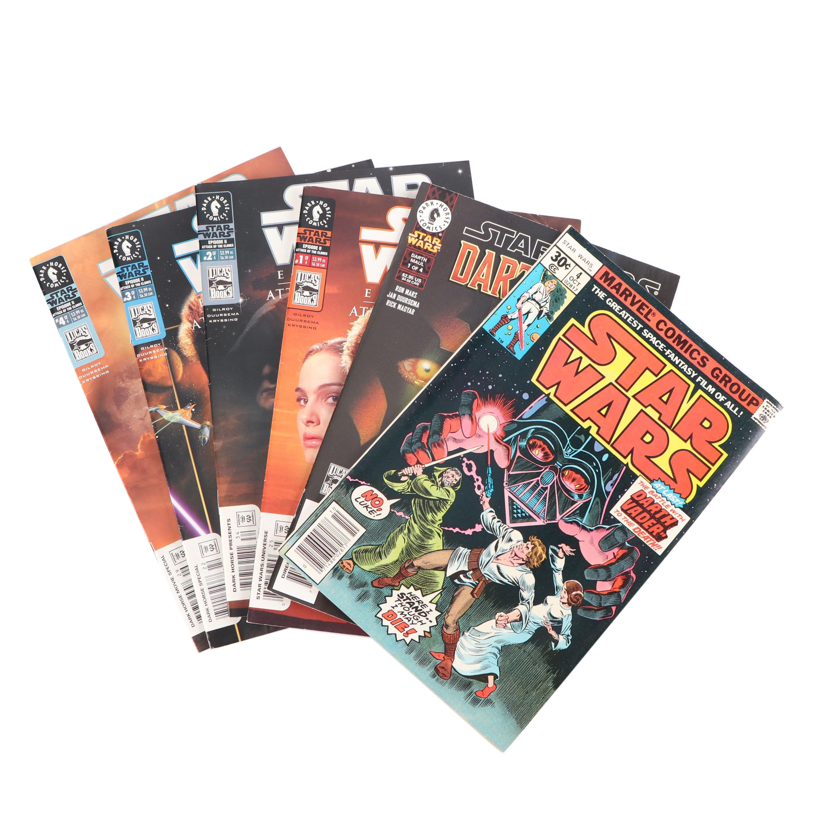 "Bronze and Modern Age ""Star Wars"" Comic Books"