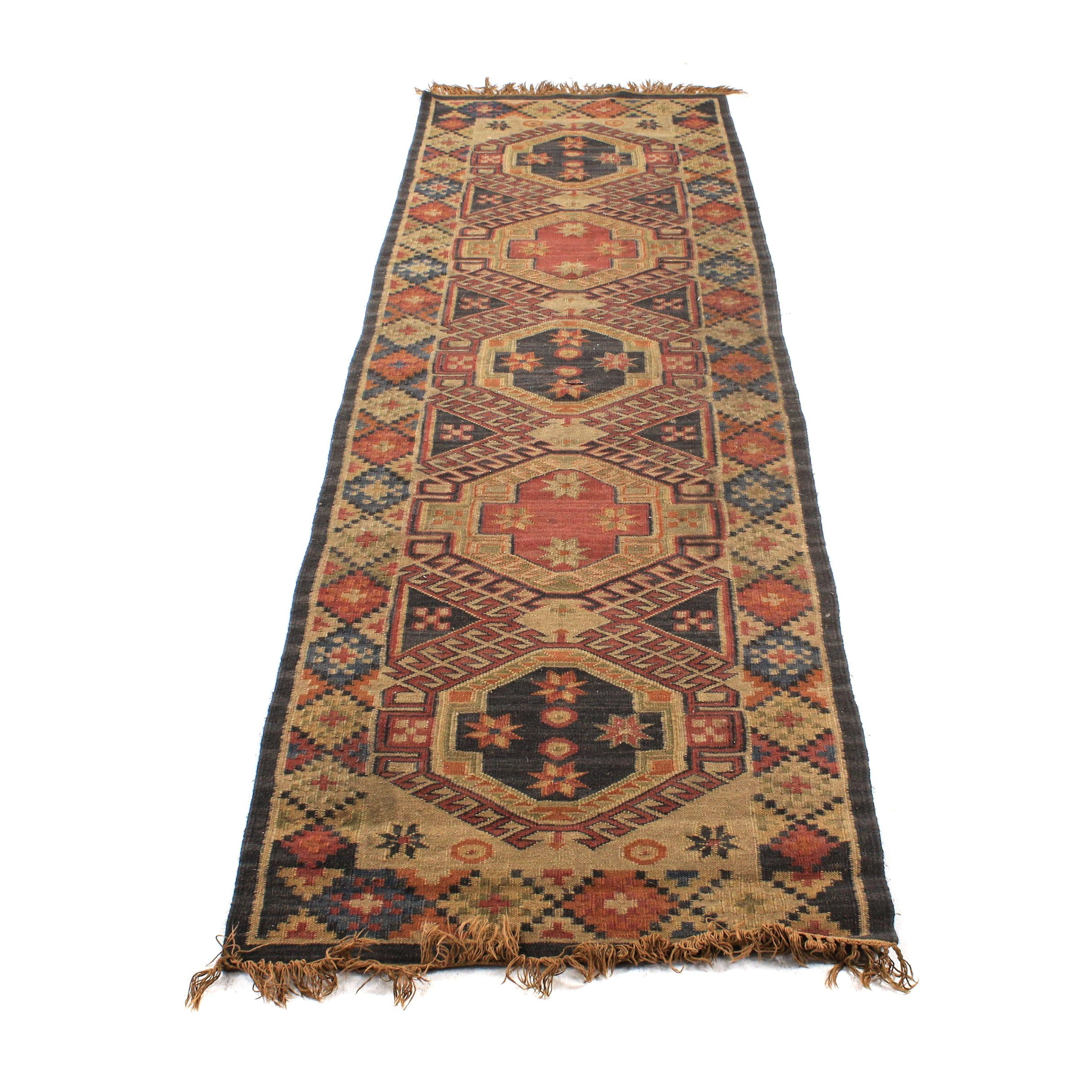 Handwoven Anatolian Carpet Runner