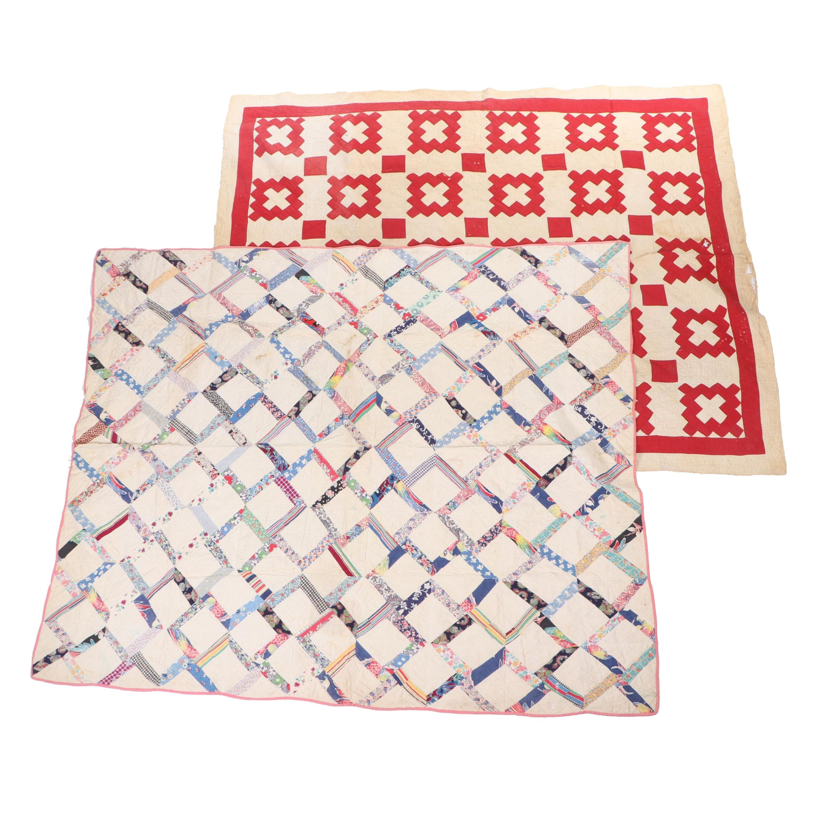 Hand-Stitched Quilts, Early to Mid 20th Century