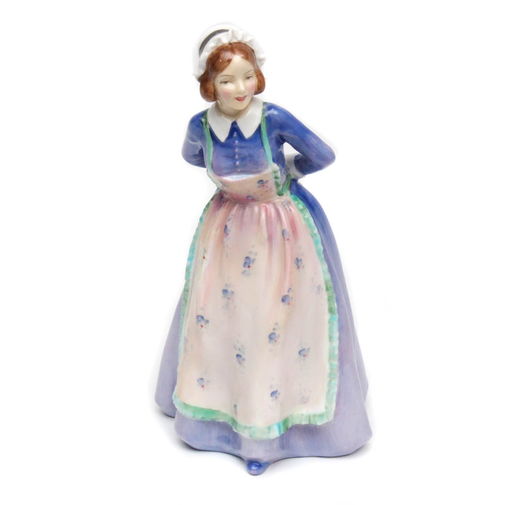 "Royal Doulton Porcelain Figurine ""Susan"", circa 1950"