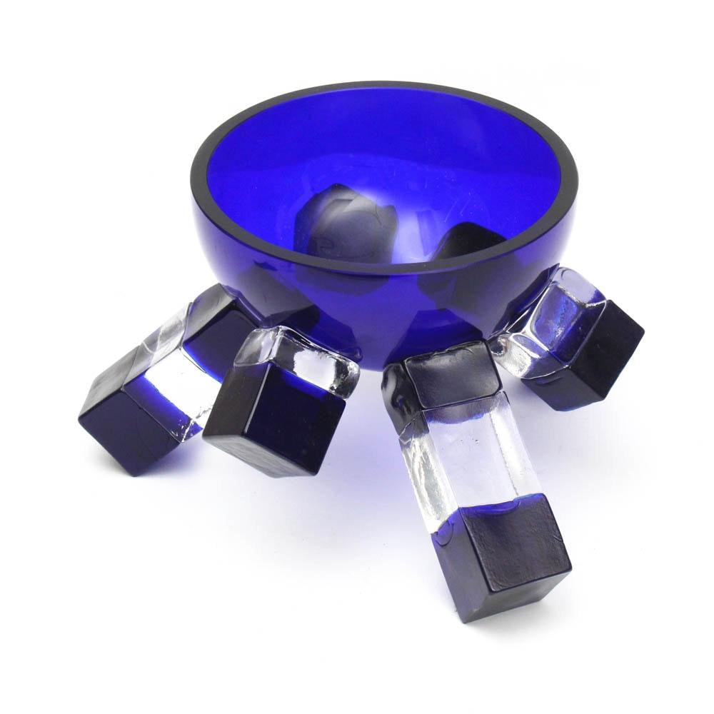 David Sobotka Hand Made Art Glass Bowl