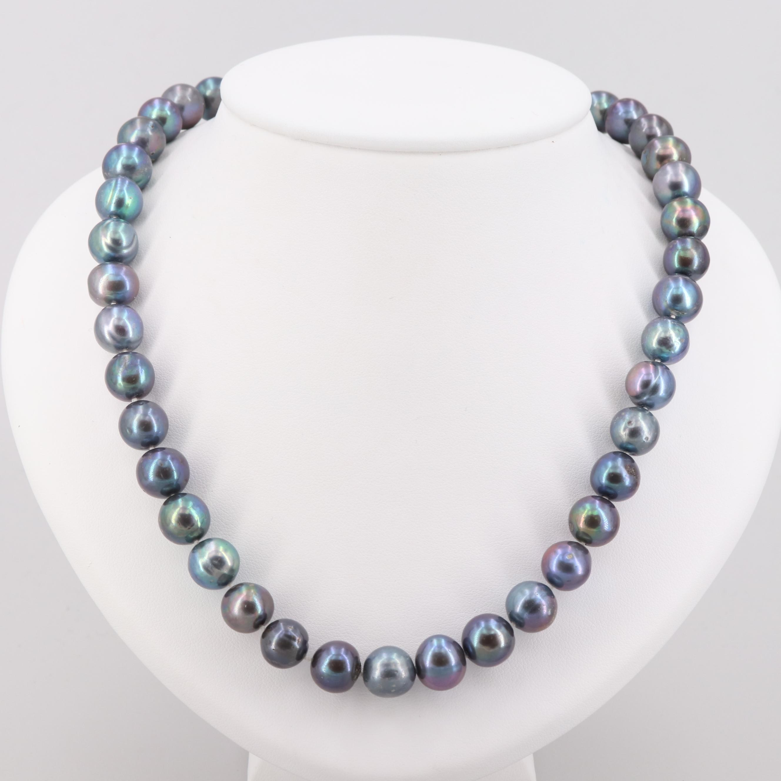 Michael Anthony Cultured Pearl Bead Necklace with 14K Yellow Gold