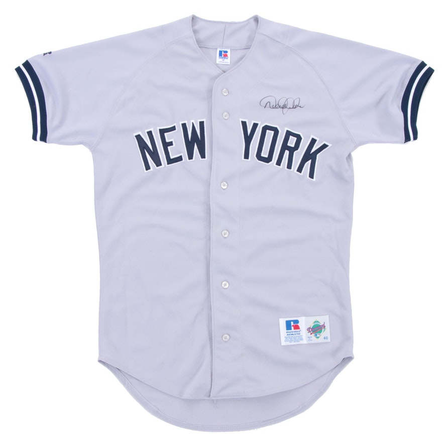 finest selection 78b93 17086 Derek Jeter Signed Yankees Jersey, Turn 2 Foundation COA