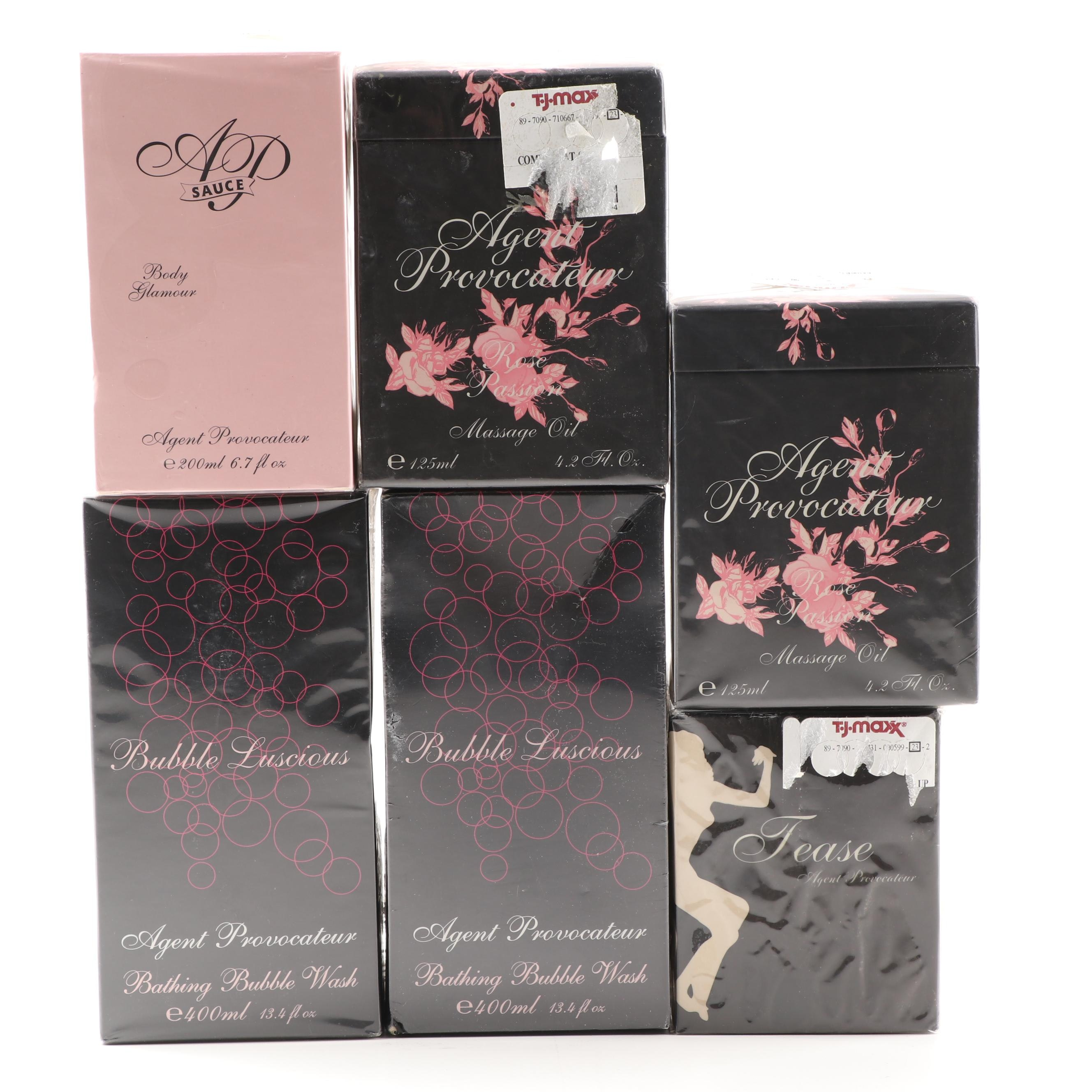 Agent Provocateur Toiletries and Candle