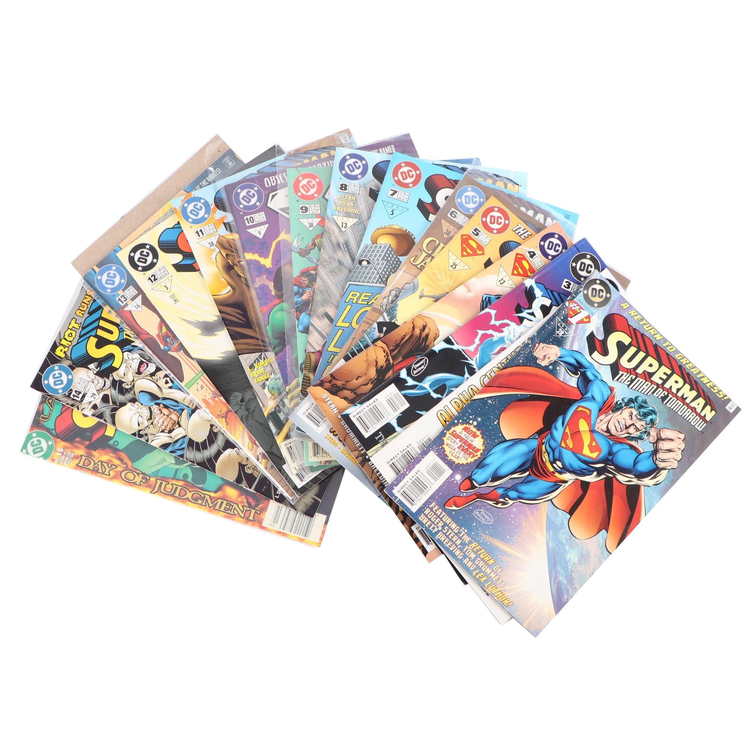 "Modern Age ""Superman The Man of Tomorrow"" Comic Books"