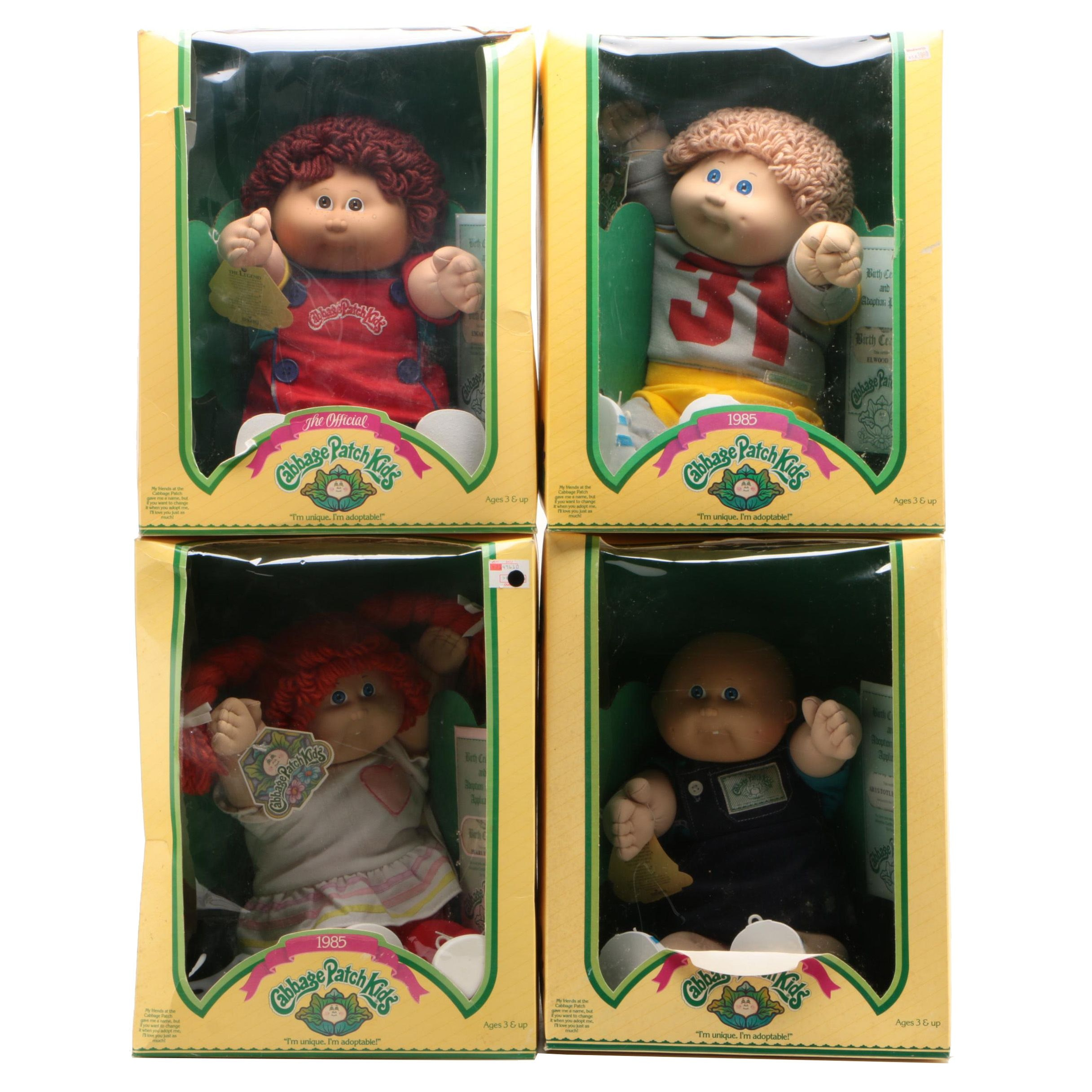 Coleco Cabbage Patch Kids Dolls, Mid-1980s