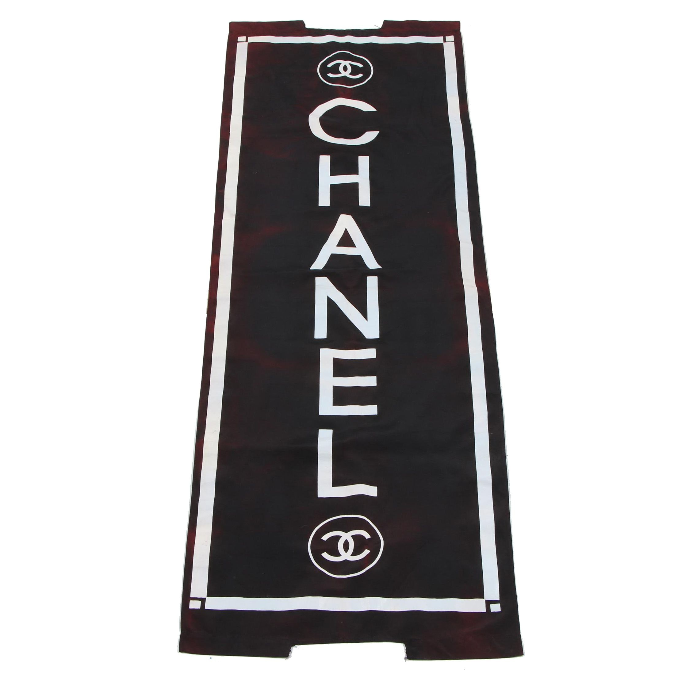 Chanel Retail Store Advertising Banner