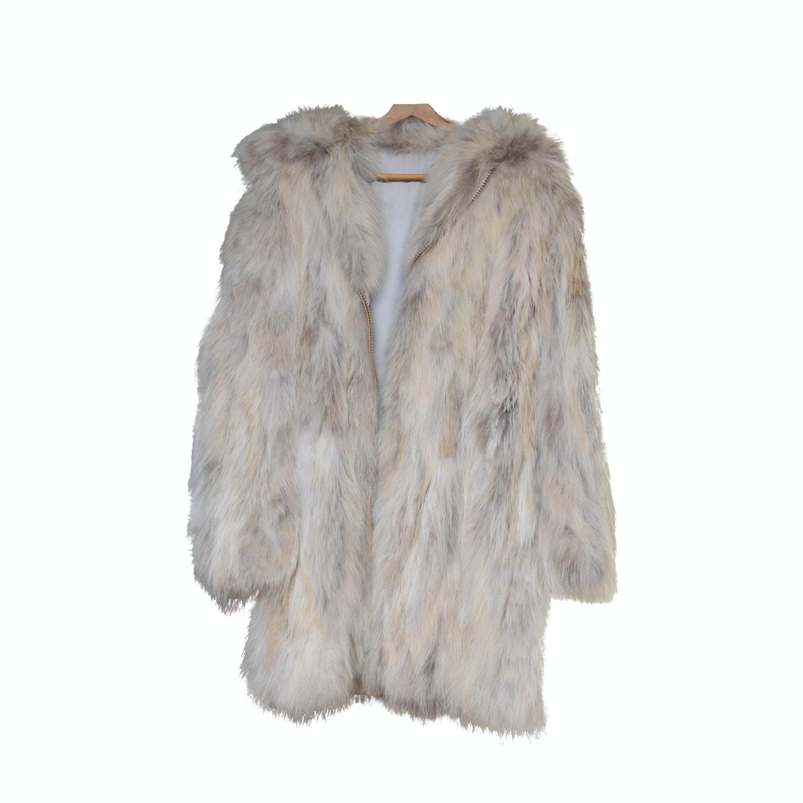 Coyote Fur Stroller Coat