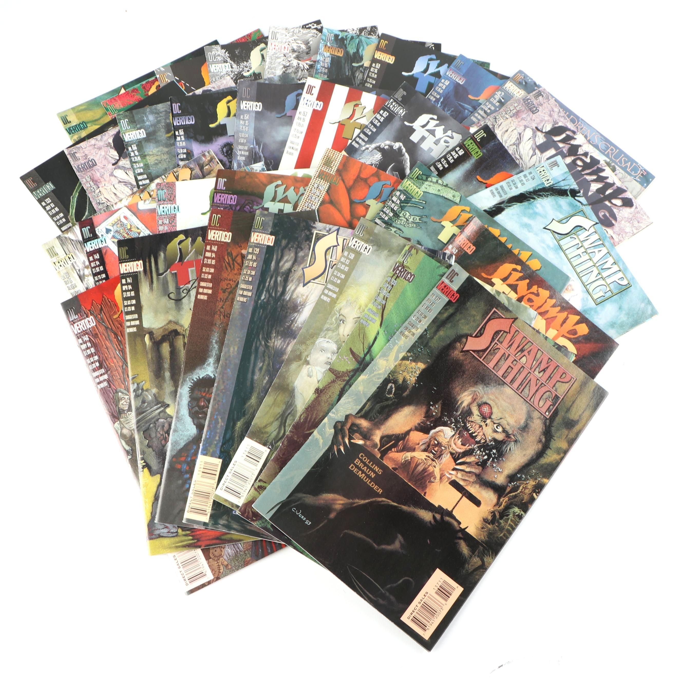 "Modern Age ""Swamp Thing"" Comic Books"