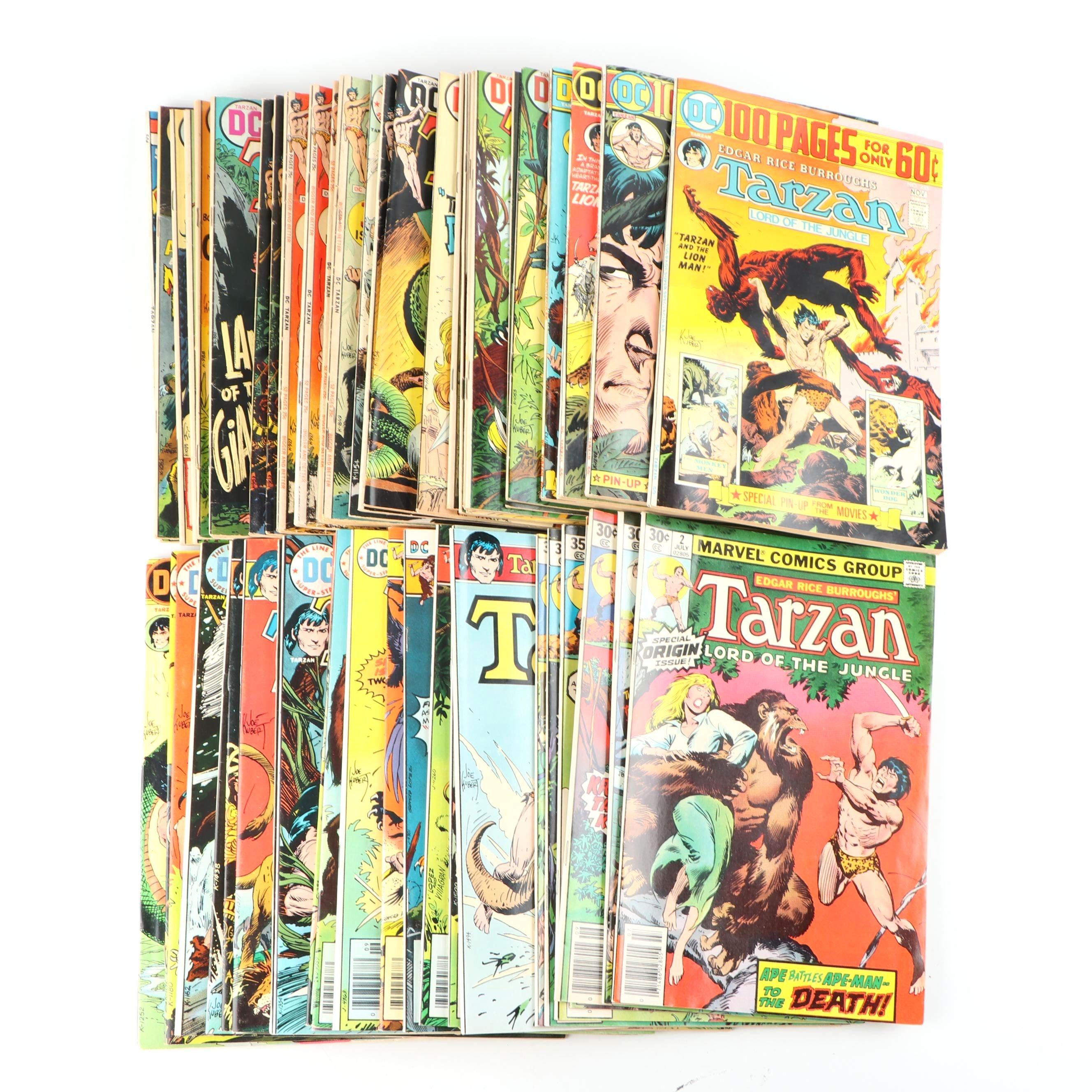 """Bronze Age """"Tarzan"""" Comic Books"""