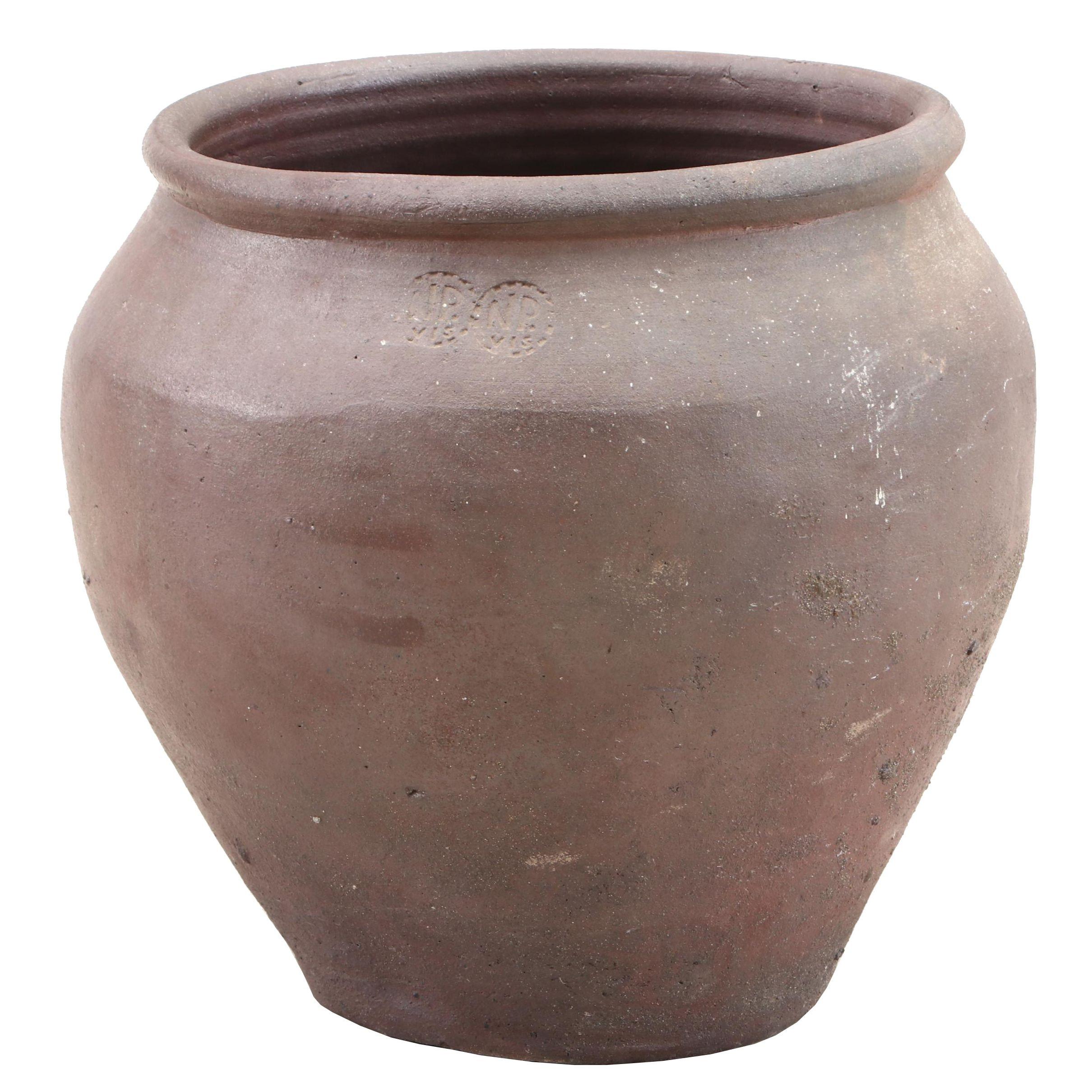 Rustic Ceramic Garden Planter