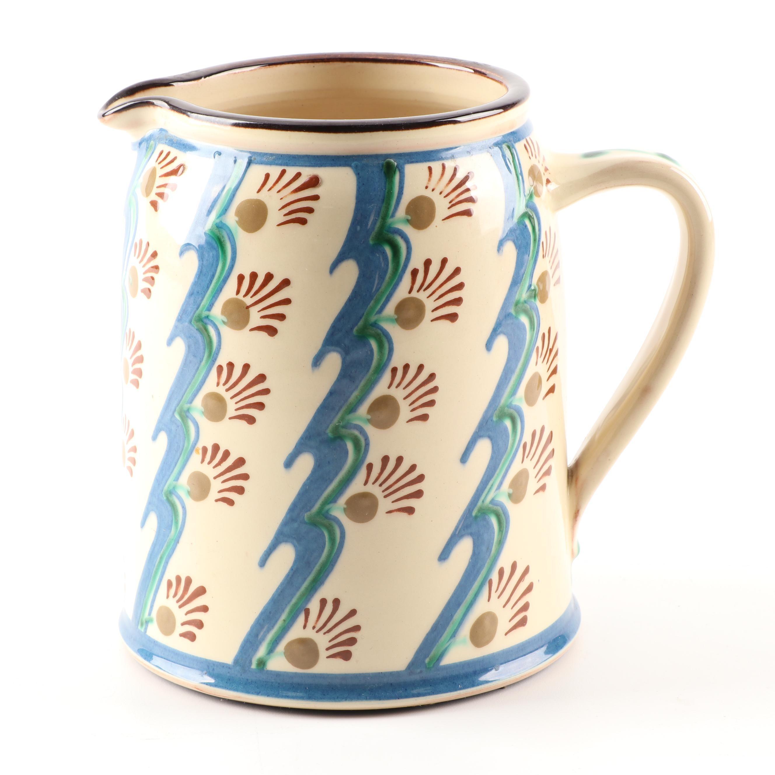 Decorative Ceramic Pitcher