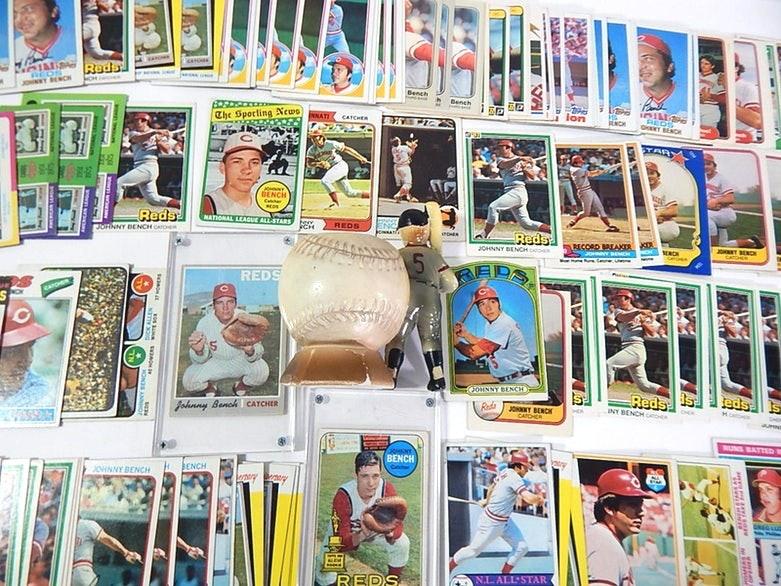 (HOF) Johnny Bench Baseball Cards, 1968 to 1974