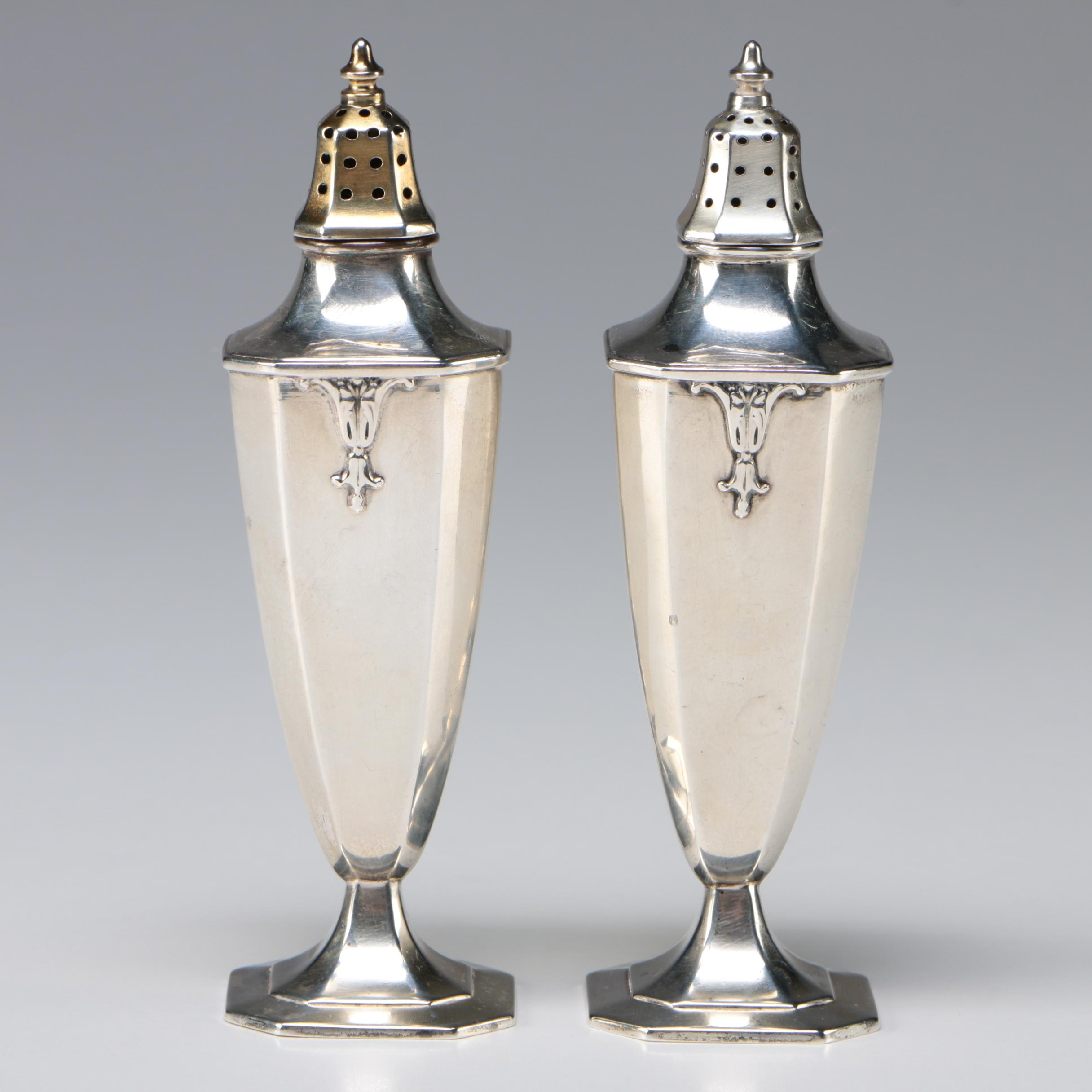 Wallace Sterling Salt and Pepper Shakers