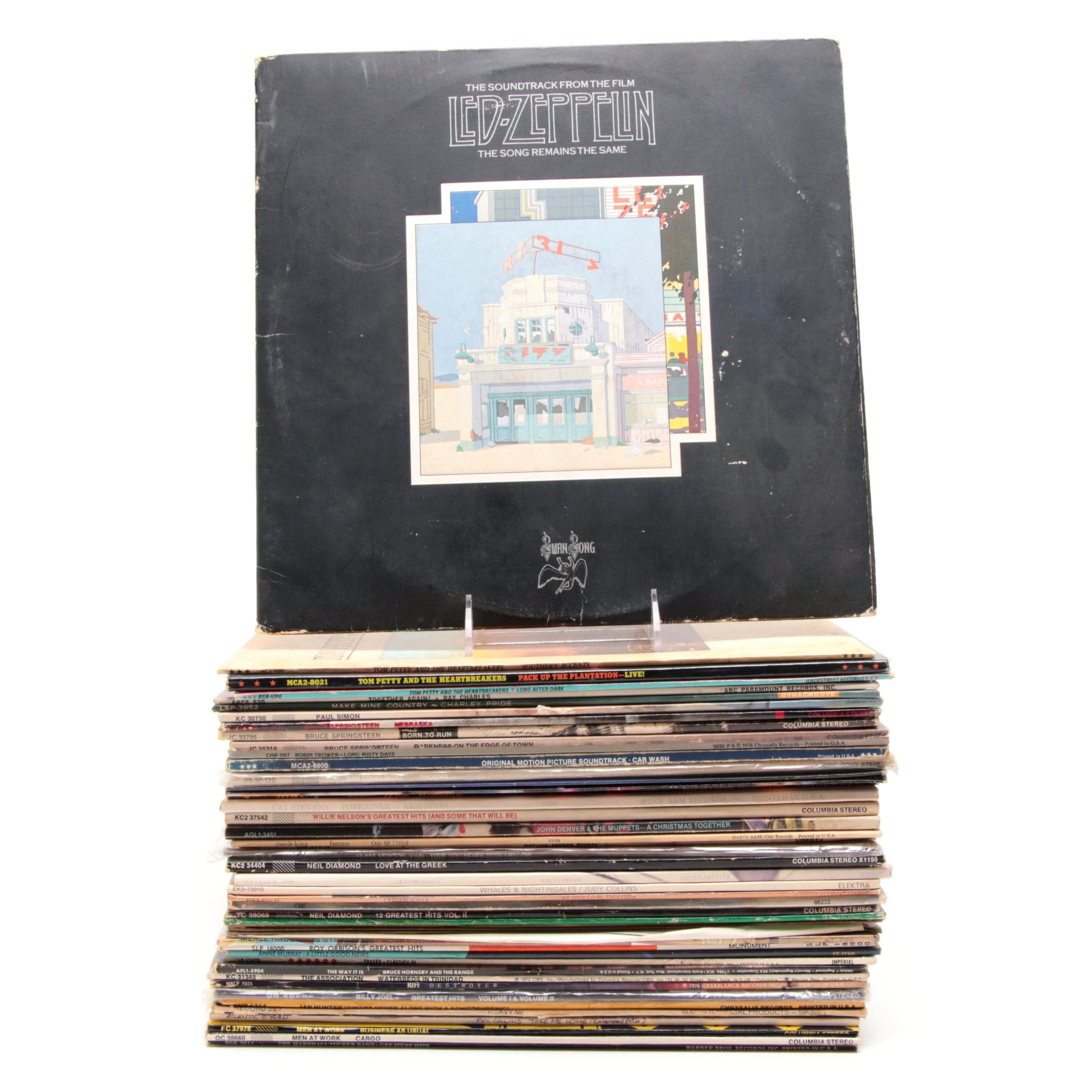 Records Including Roy Orbison, Ray Charles, Led Zeppelin and More