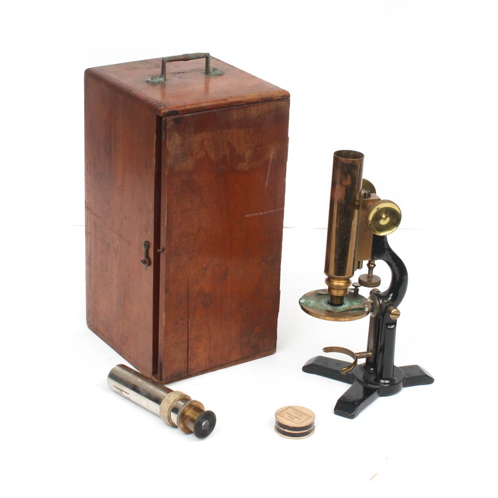 Antique Student's Microscope