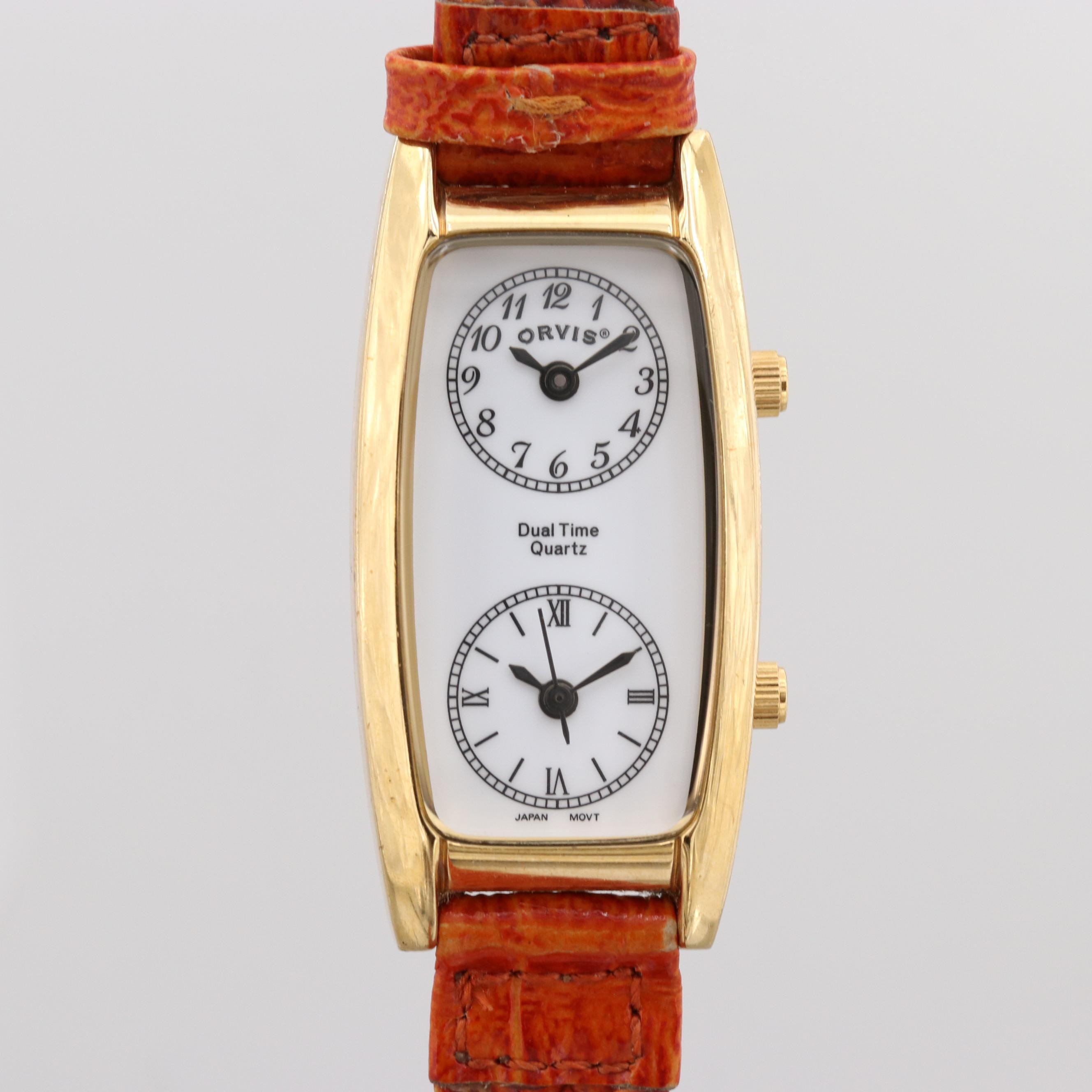 Orvis Dual Time Wristwatch