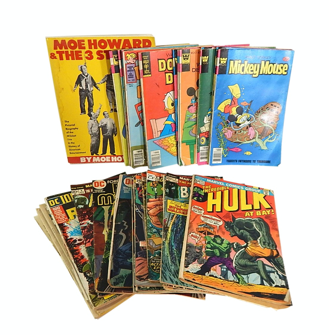 "Vintage Comic Books with ""Hulk"", ""The Son of Satan"", Disney and More"