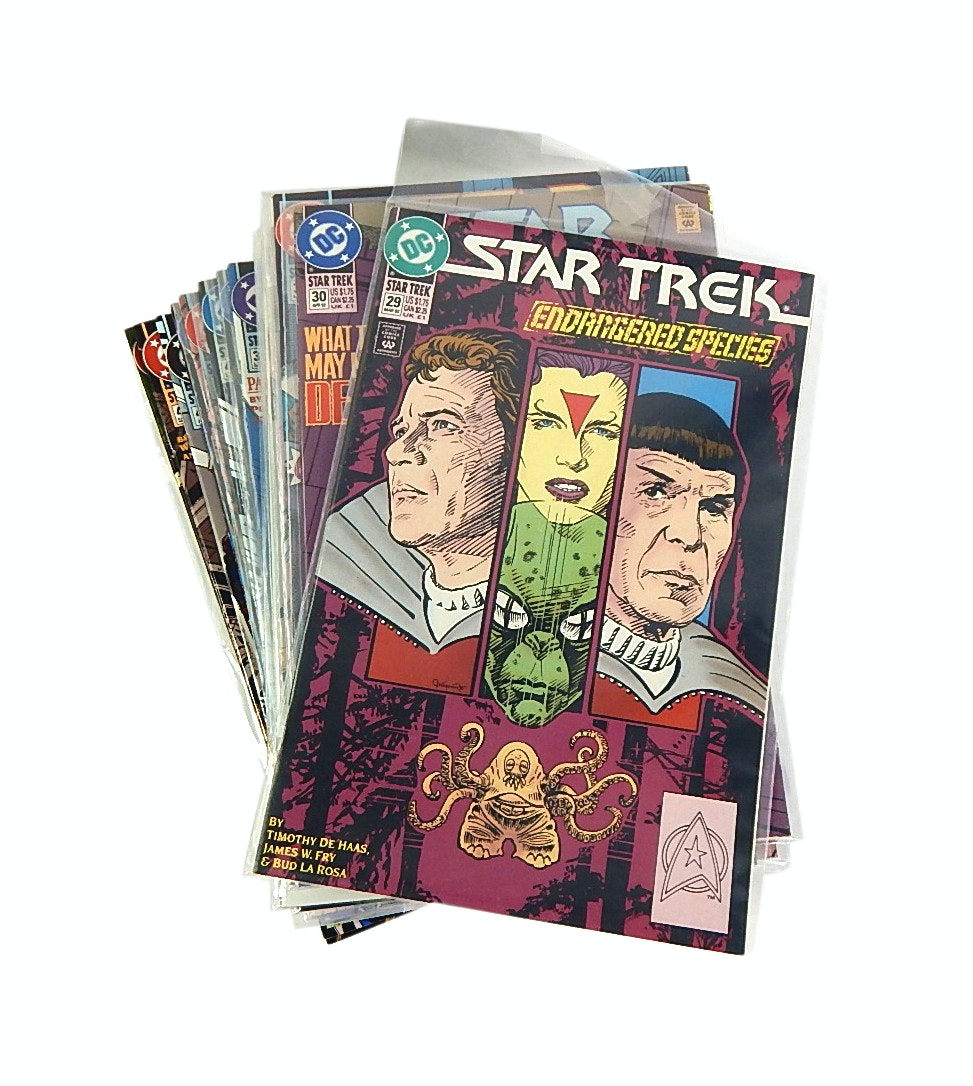 "1990s ""Star Trek: Endangered Species"" Comic Issues #29 to #80"