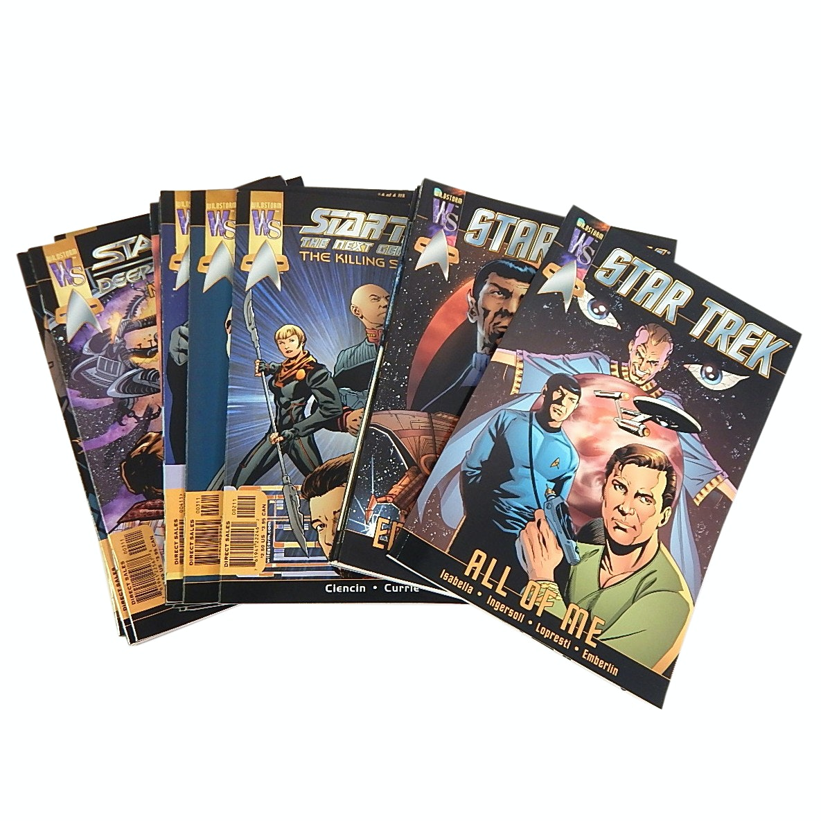 """2001 """"Star Trek"""" Comics with First Issues"""