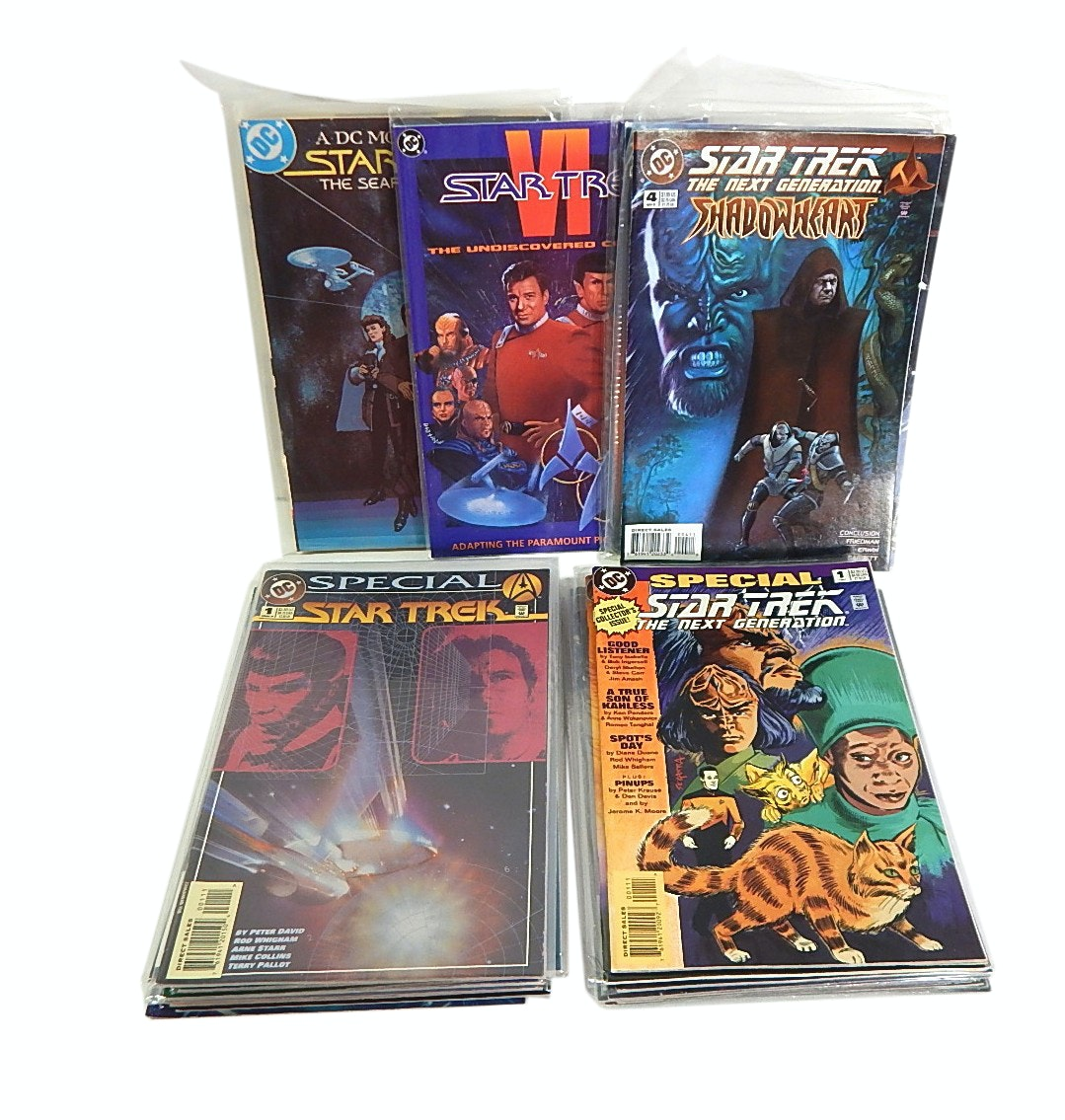 "Modern Age ""Star Trek"" Comics with First Issues"
