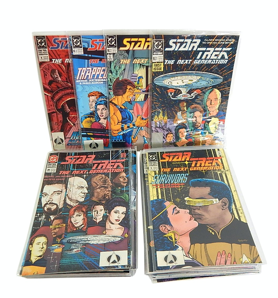 "Bronze Age ""Star Trek: The Next Generation"" Comics #1-40"