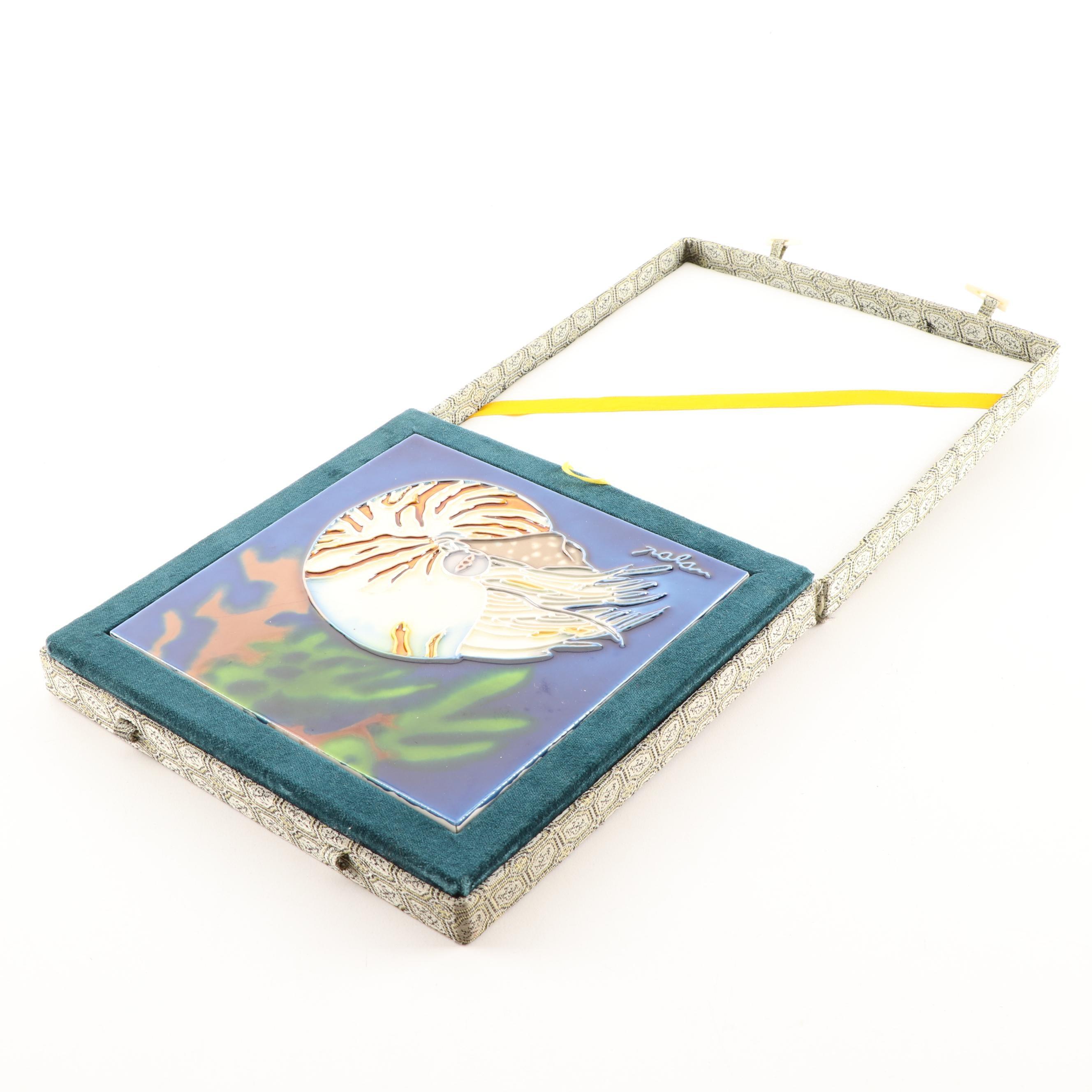 Nautilus Decorative Tile