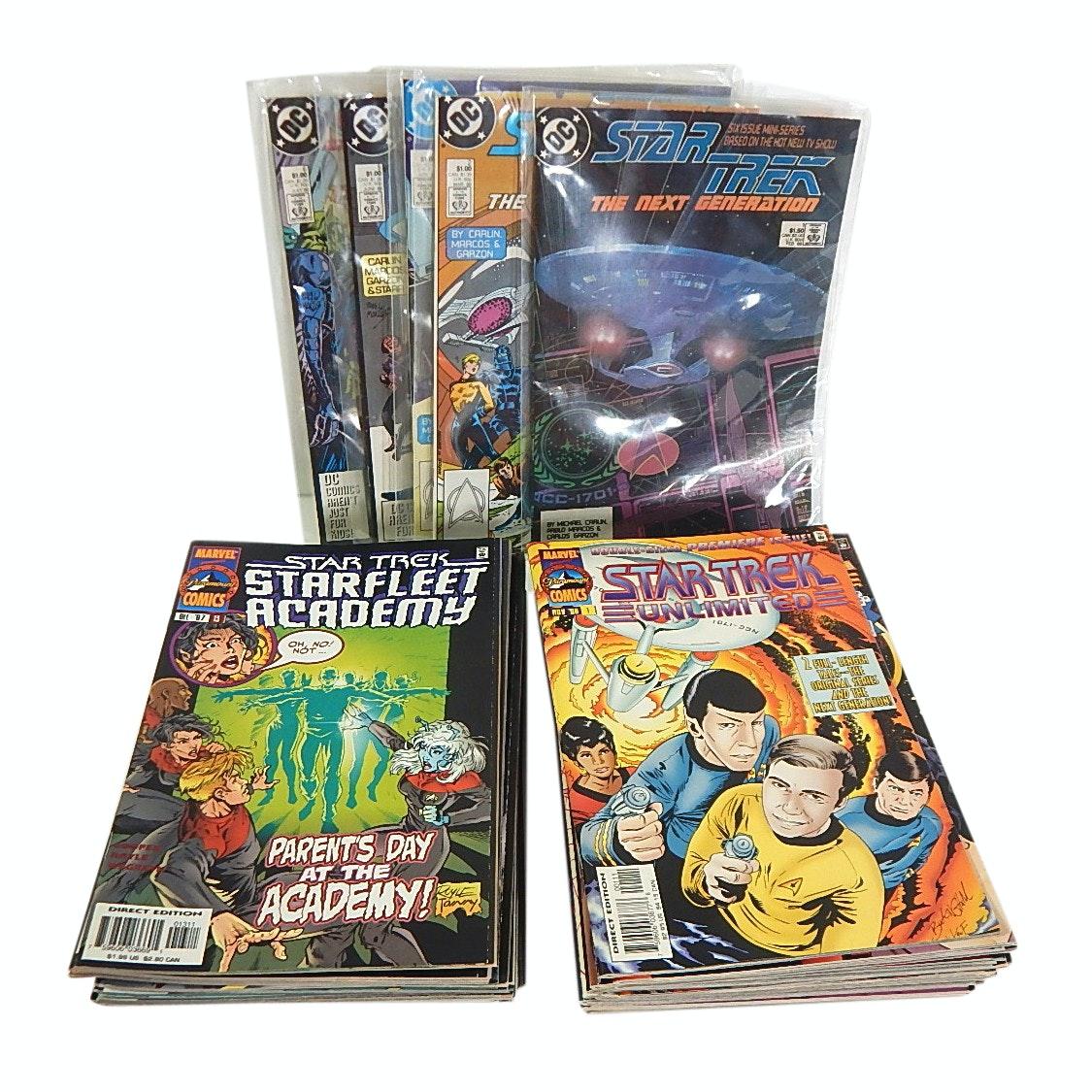 "Bronze and Modern Age ""Star Trek"" Comics"