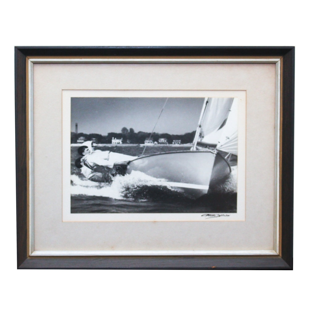 Peter Barlow Photograph of Sailboat