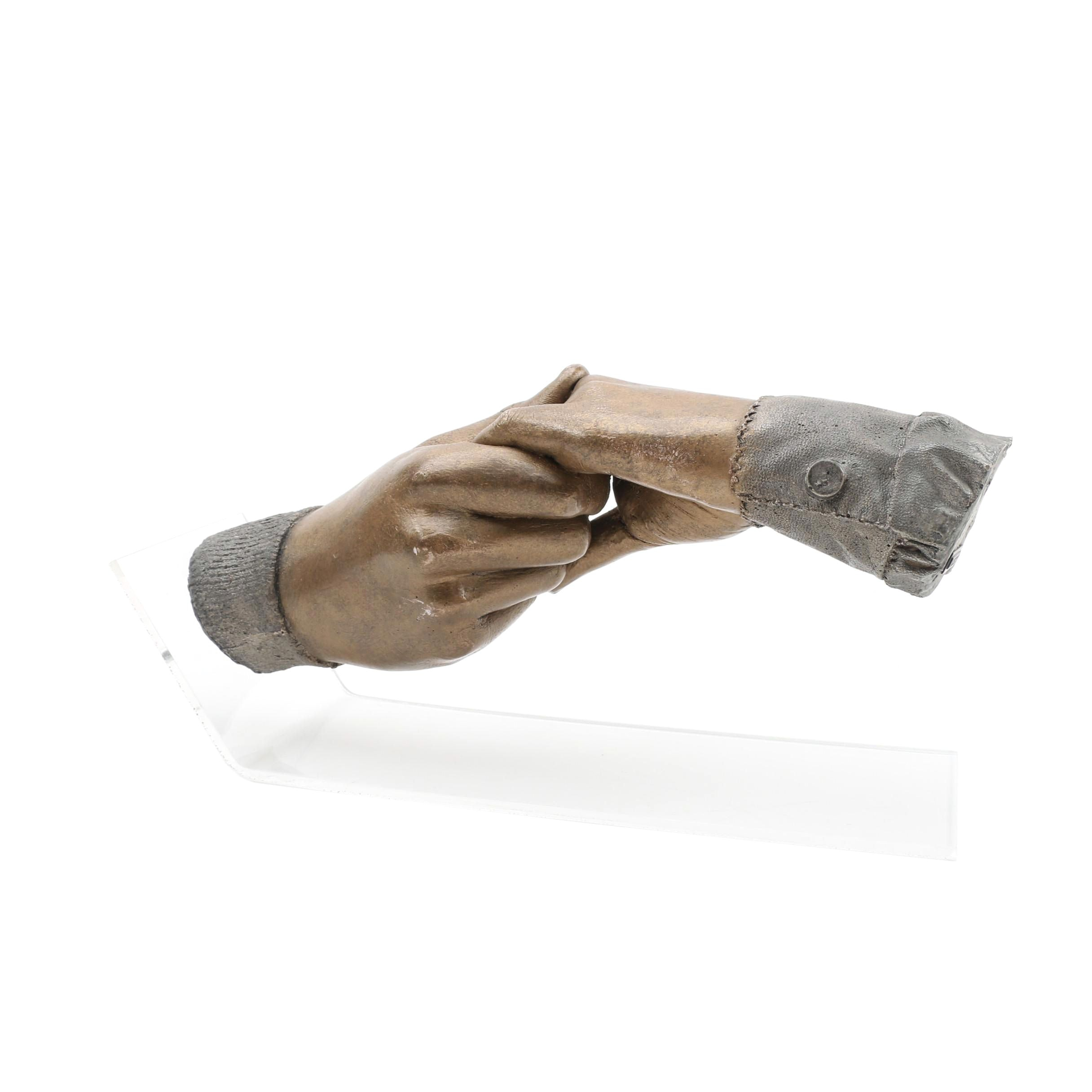 """Austin Productions """"Hand in Hand"""" Sculpture Designed by John Cutrone, 2008/2009"""