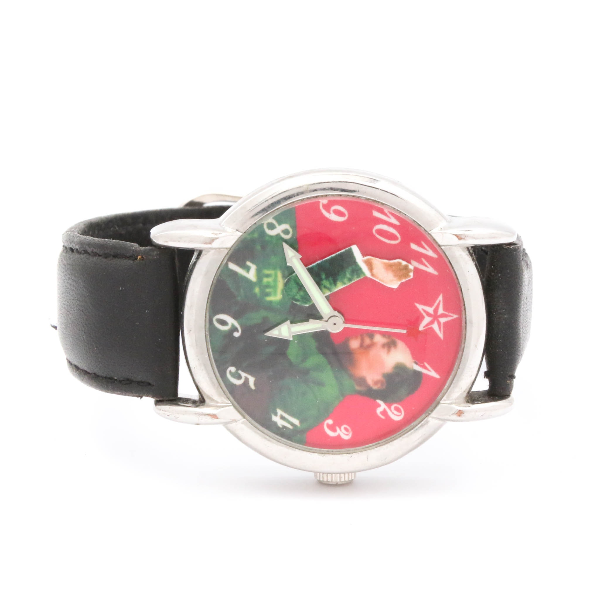 Mao Zedong Stainless Steel Wristwatch