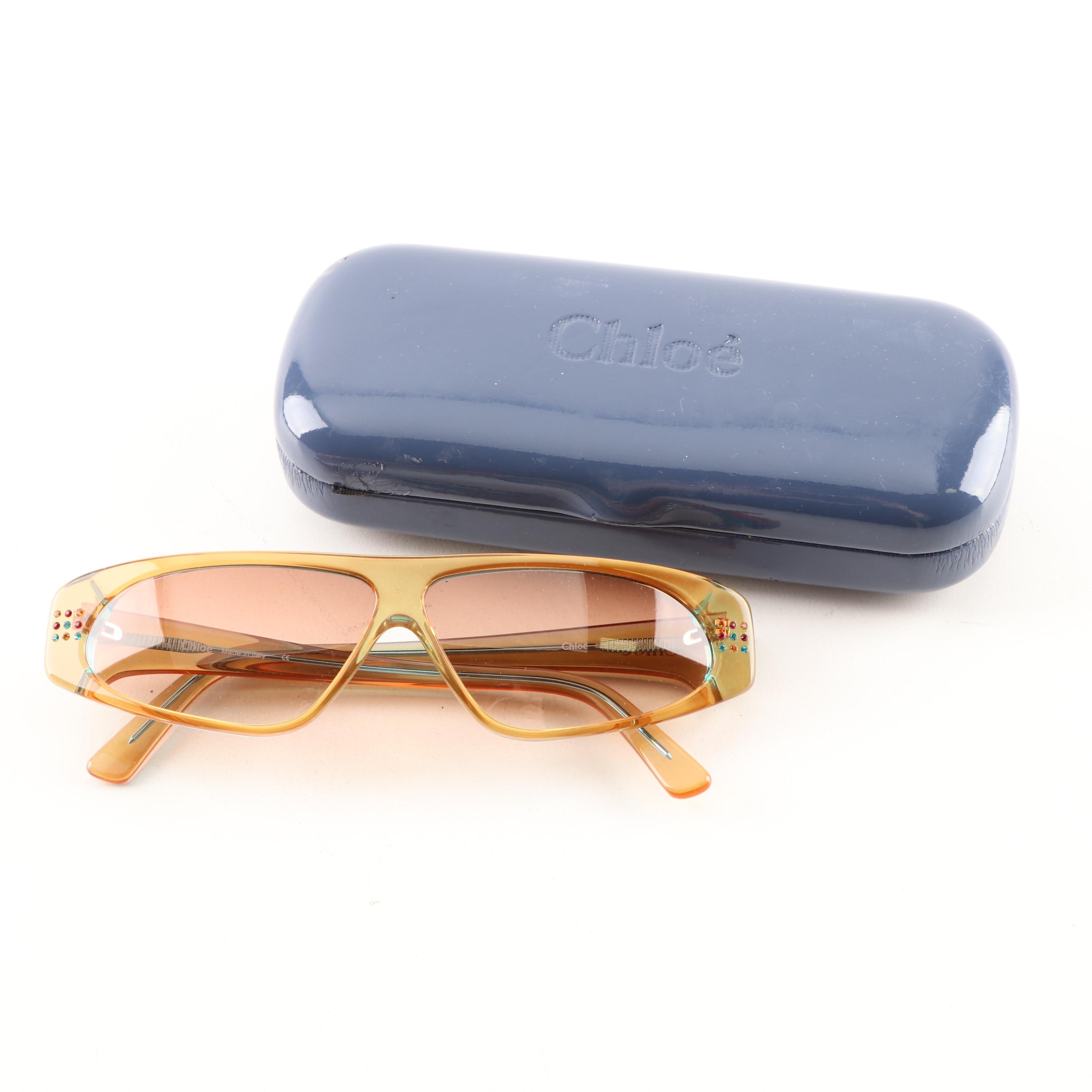 Chloé Sunglasses and Case
