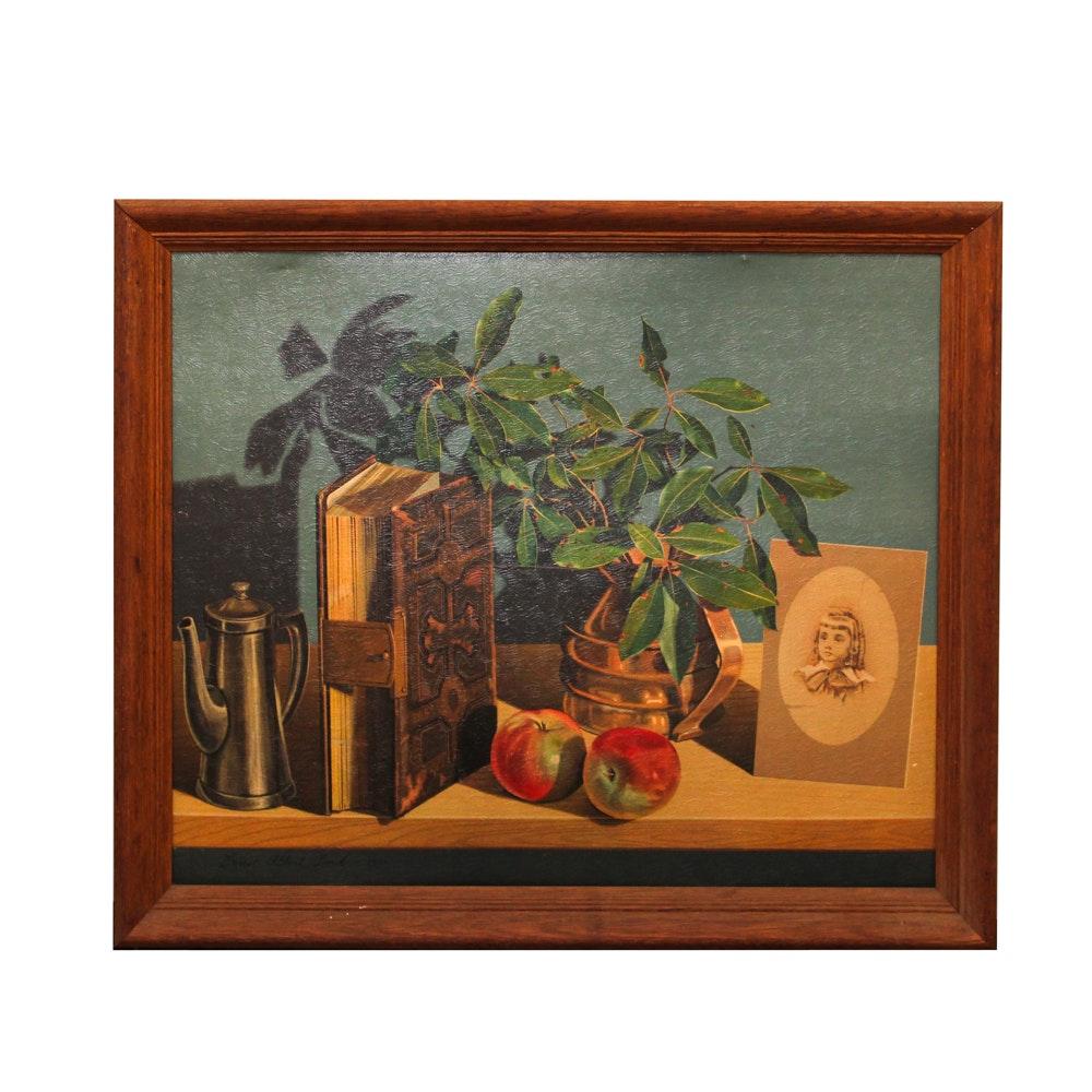 Lithograph after Ernest Albert Land