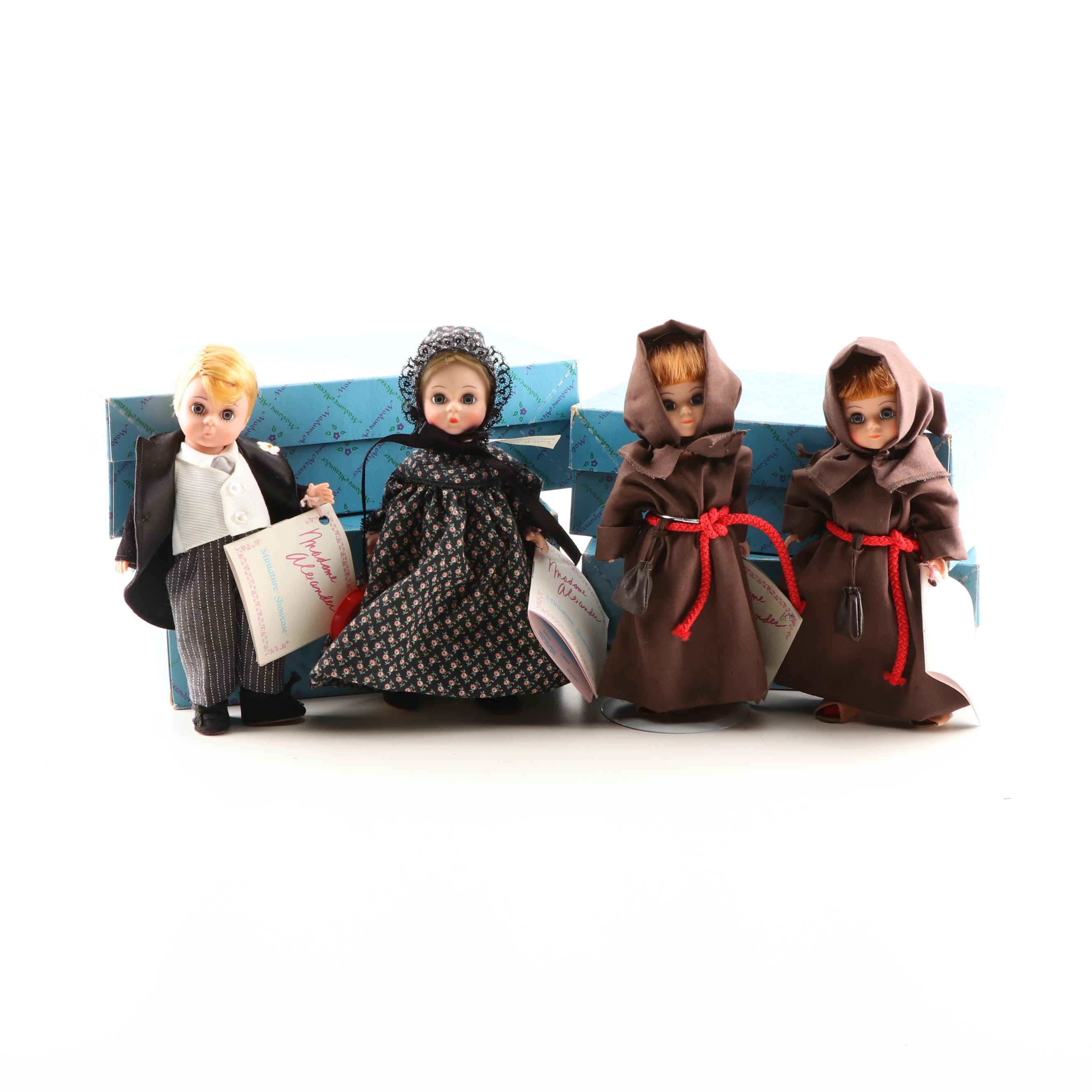 "Madame Alexander ""Groom,"" ""Friar Tuck"" and ""Mother Hubbard"" Dolls"