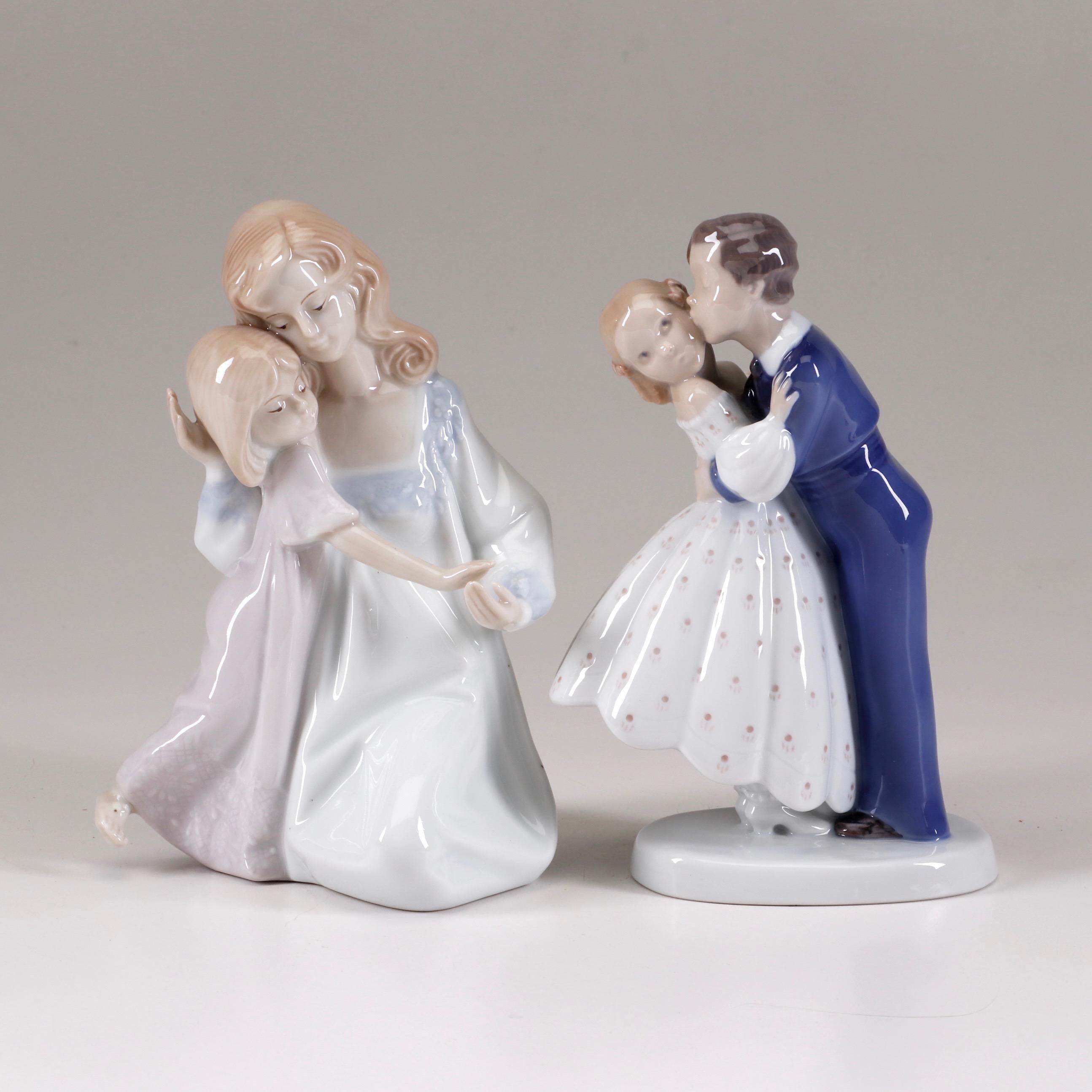 Porcelain Figurines Featuring Royal Copenhagen