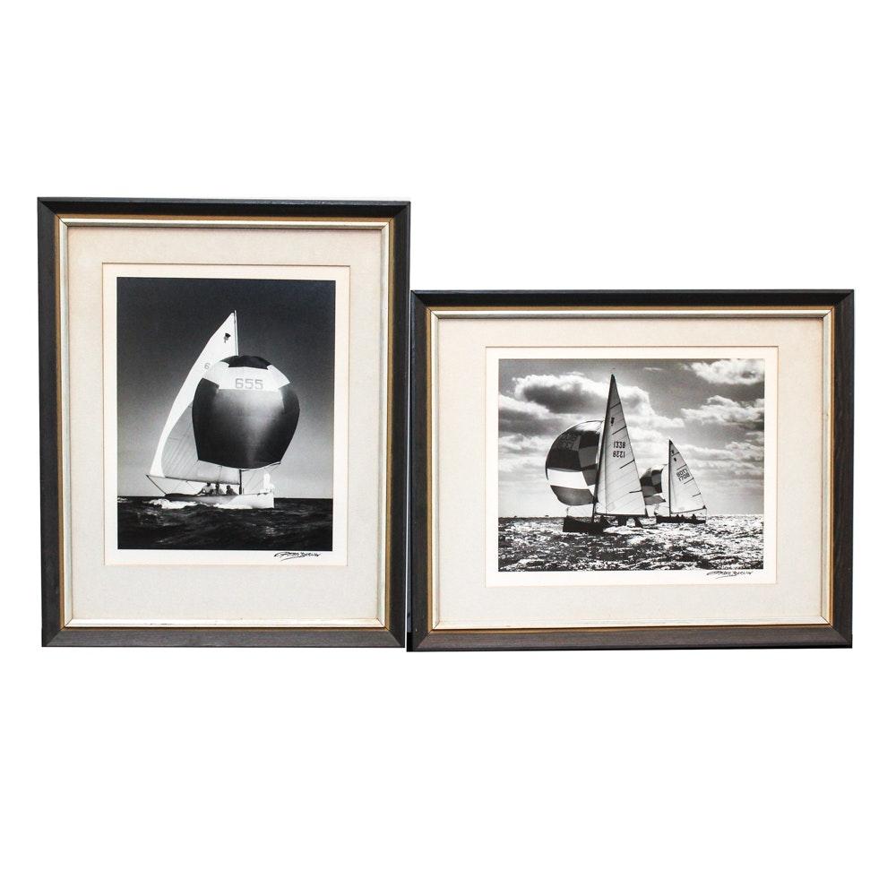 Peter Barlow Photographs of Sailboats