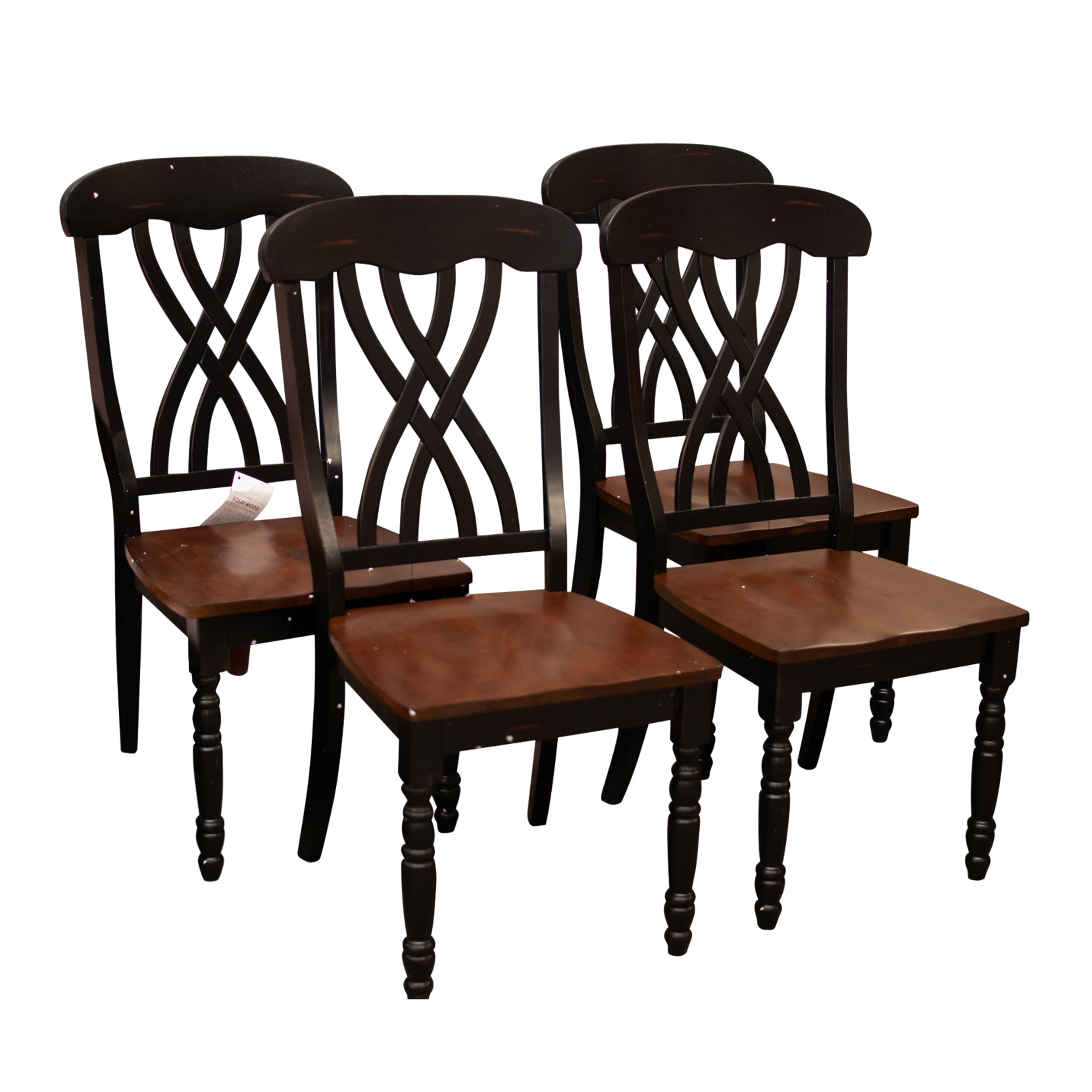 Home Elegance Solid Wood Dining Chairs, Contemporary
