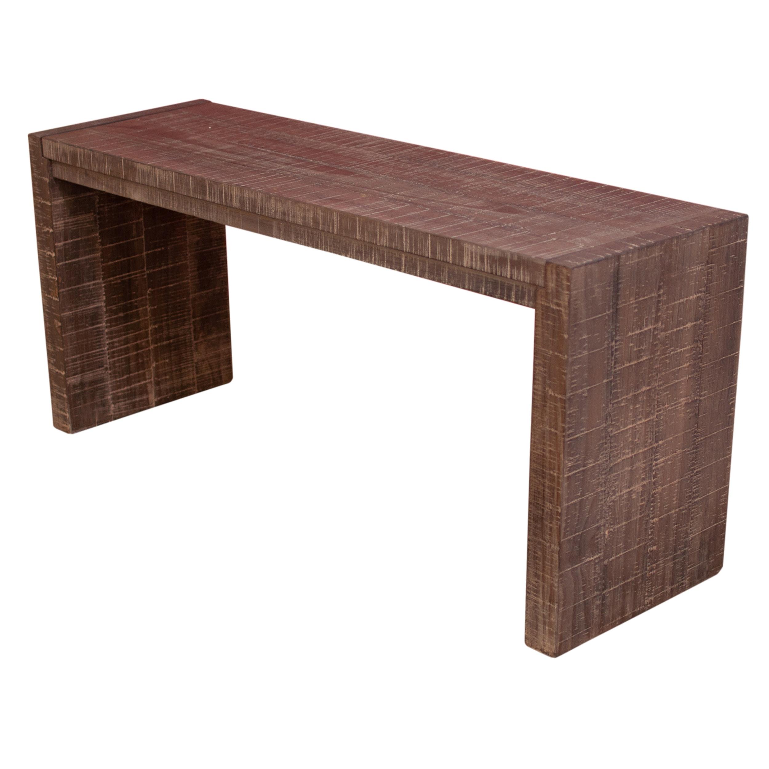 Emerald Home Wooden Sofa Table, Contemporary