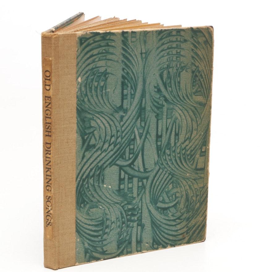 "1903 ""Old English Drinking Songs"" Byway Press Cincinnati"