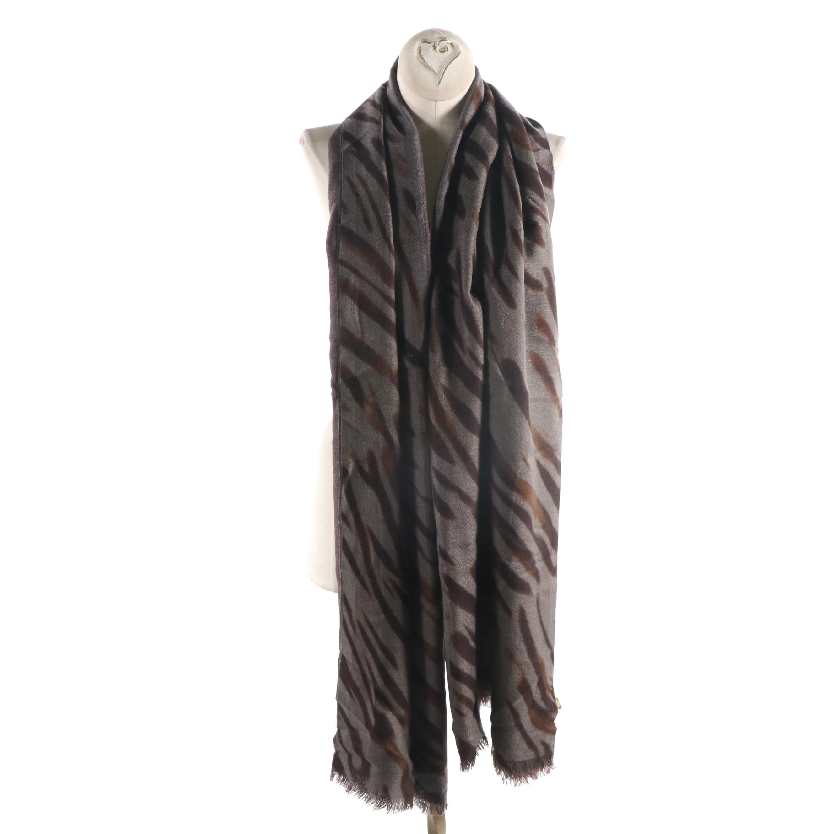 Loro Piana Cashmere and Silk Blend Scarf