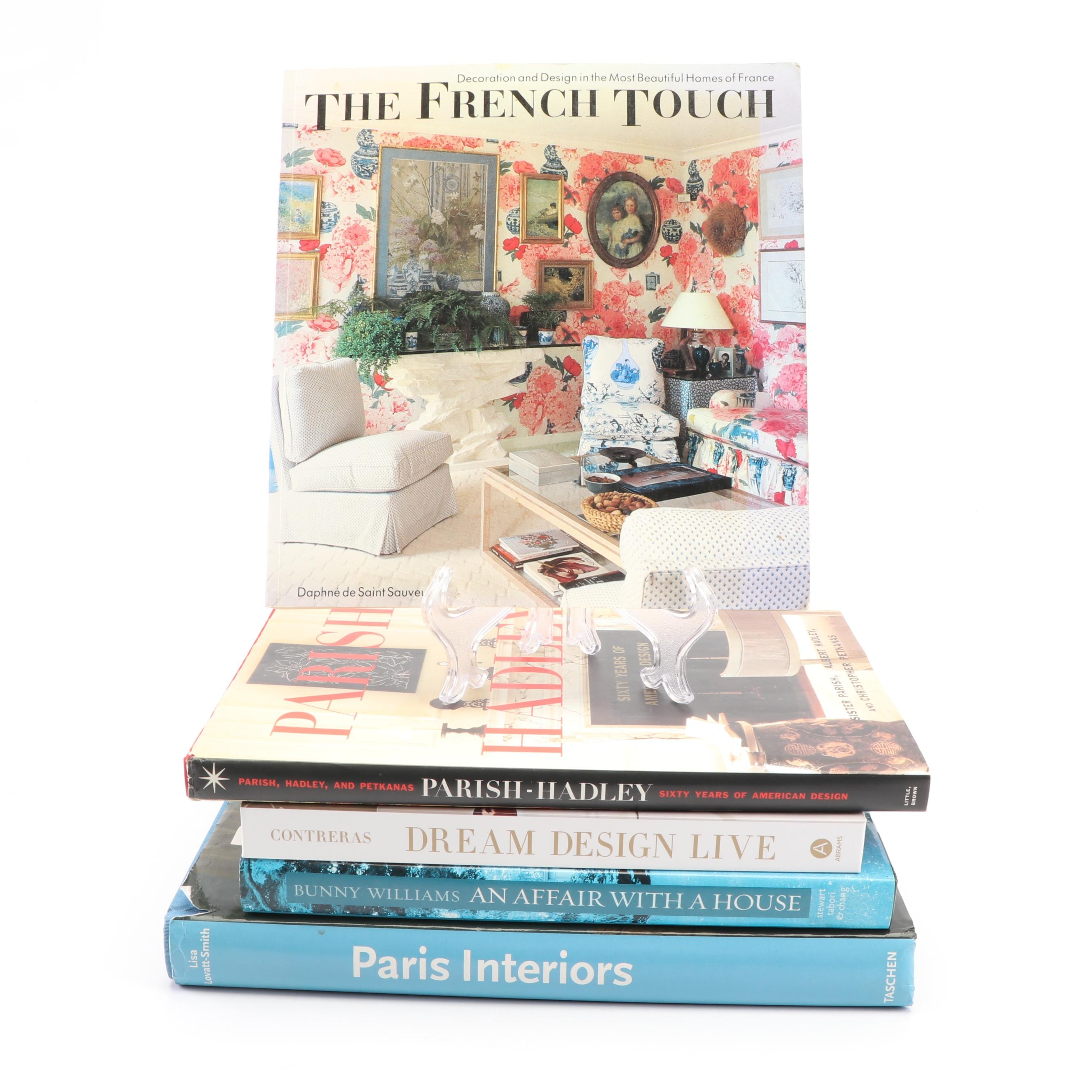 """Contemporary Interior Design Coffee Table Books Featuring """"The French Touch"""""""