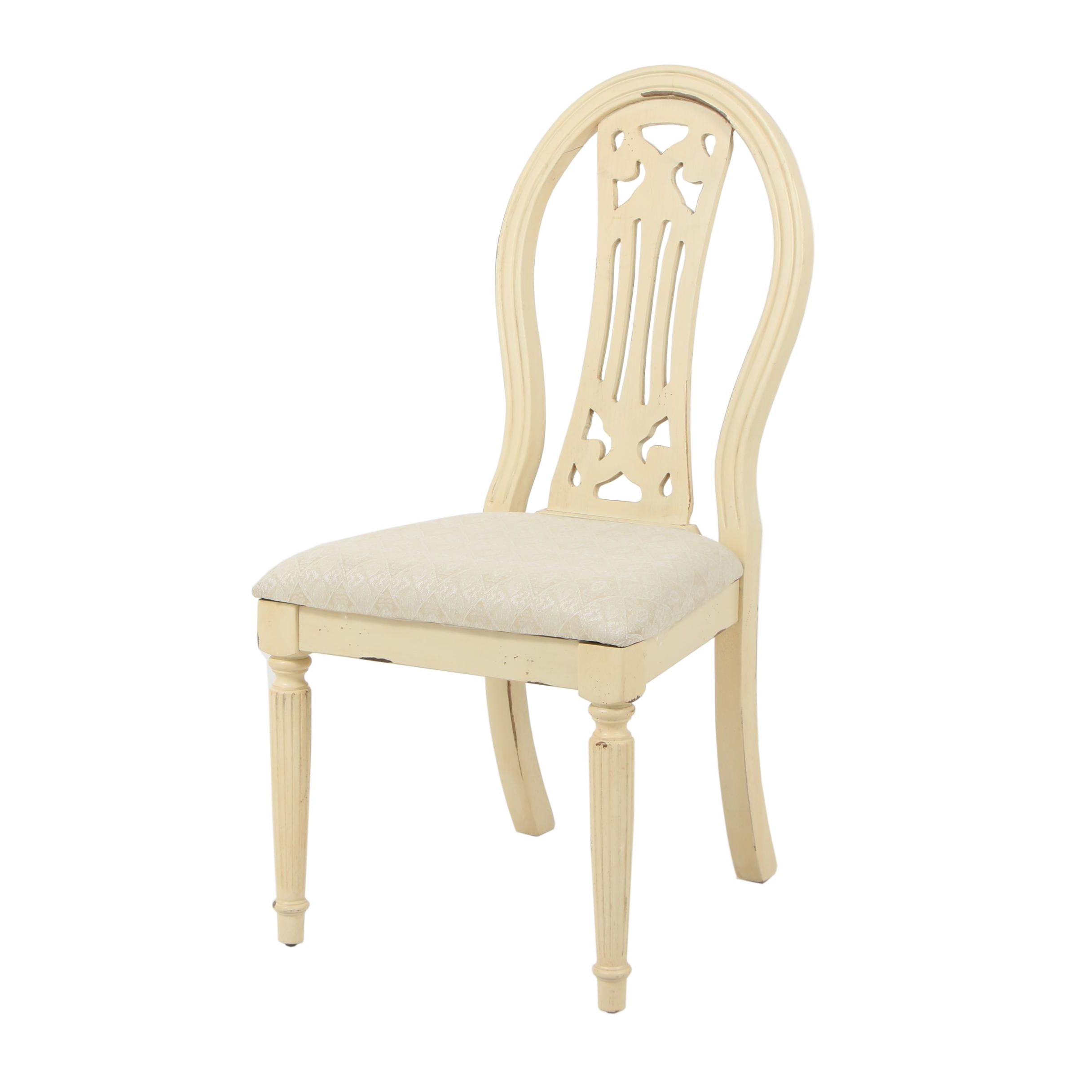 Vintage Wooden Accent Chair