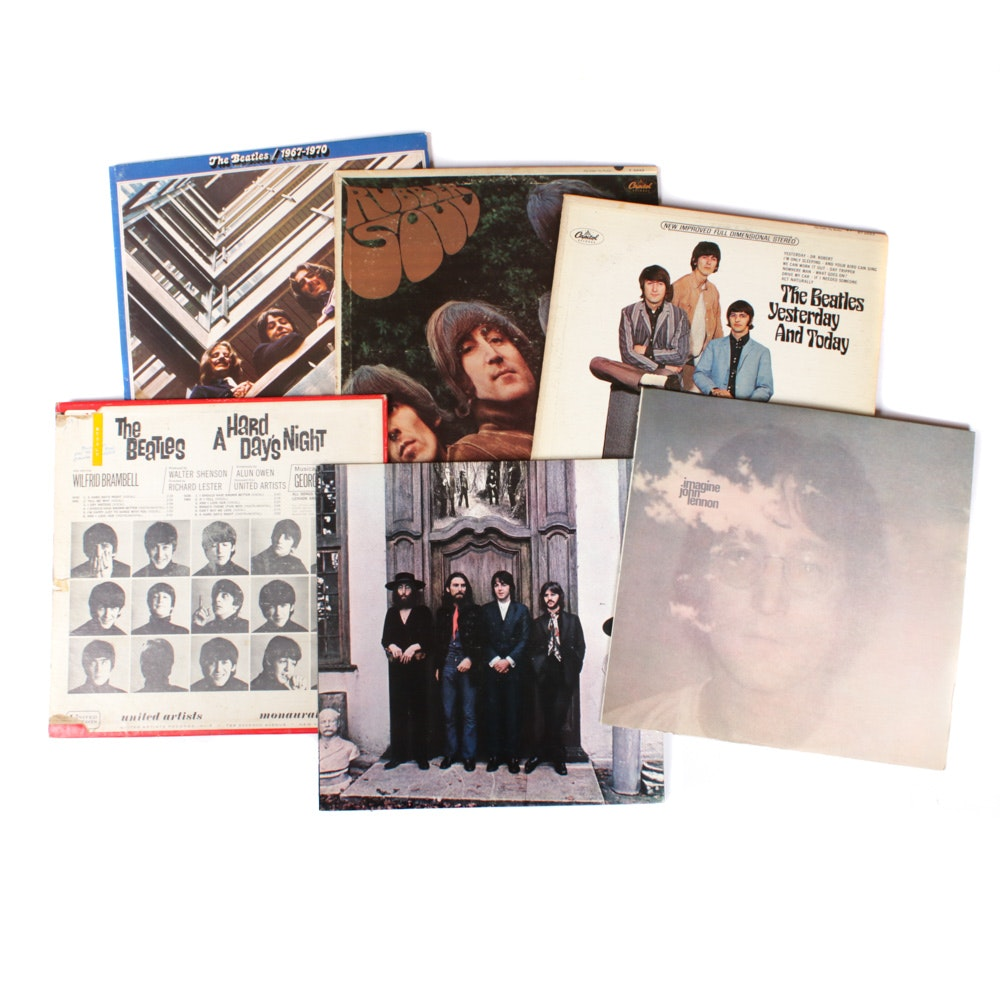 Beatles Album Collection