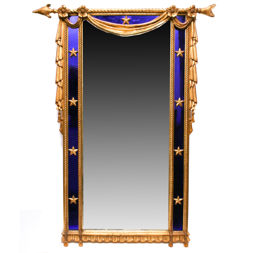 Contemporary Neoclassical Style Wall Mirror by Carvers' Guild
